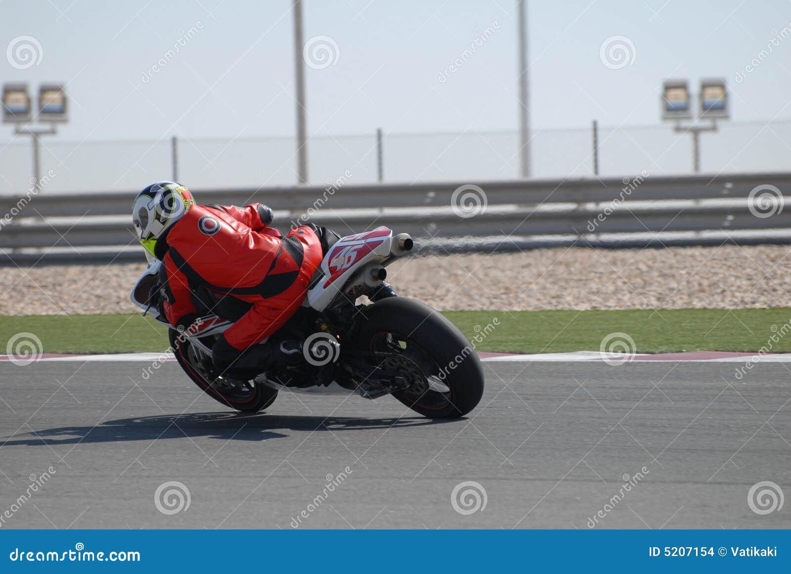 συναγωνιμένος superbike διαδρομή