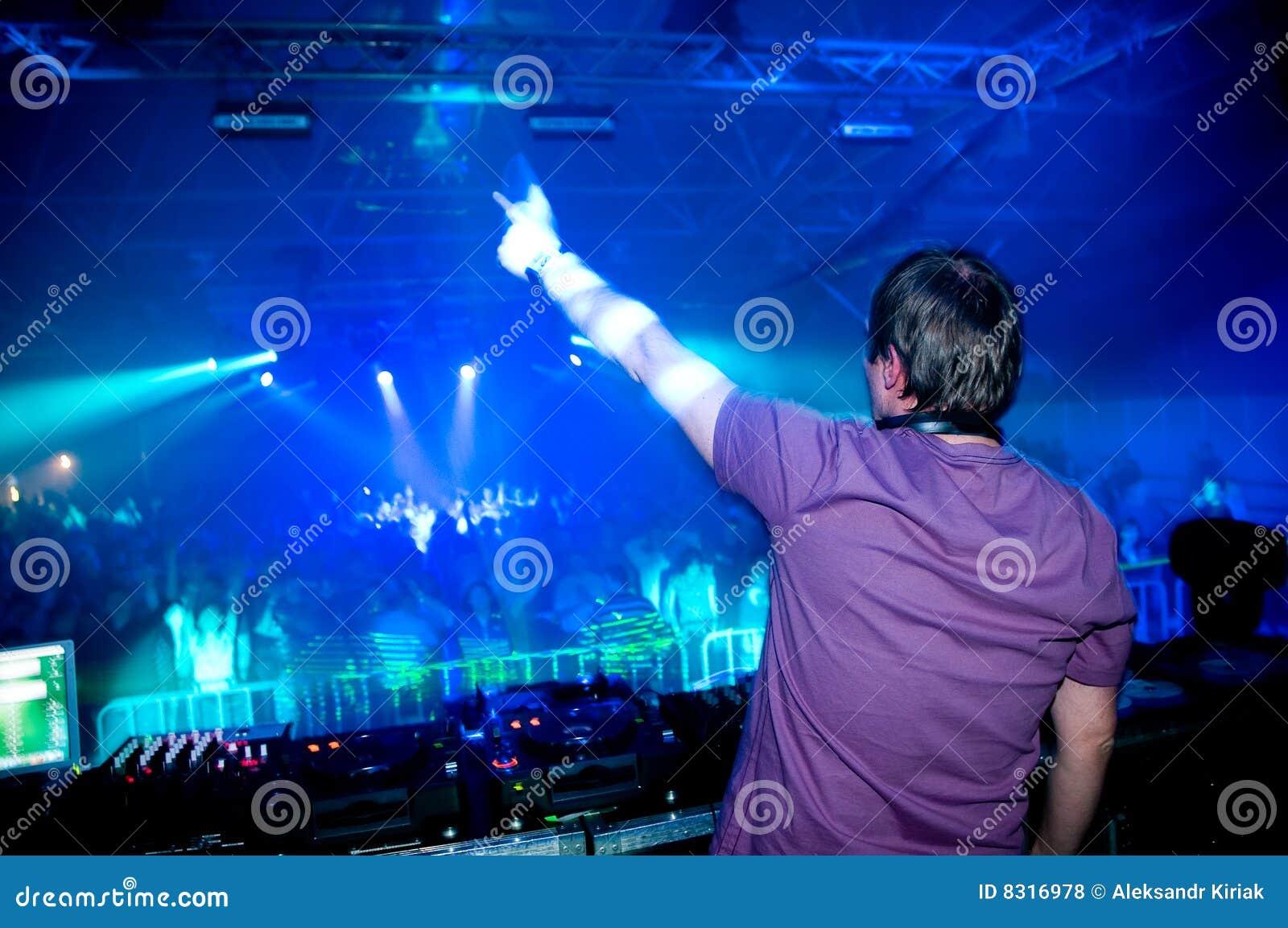 συναυλία DJ
