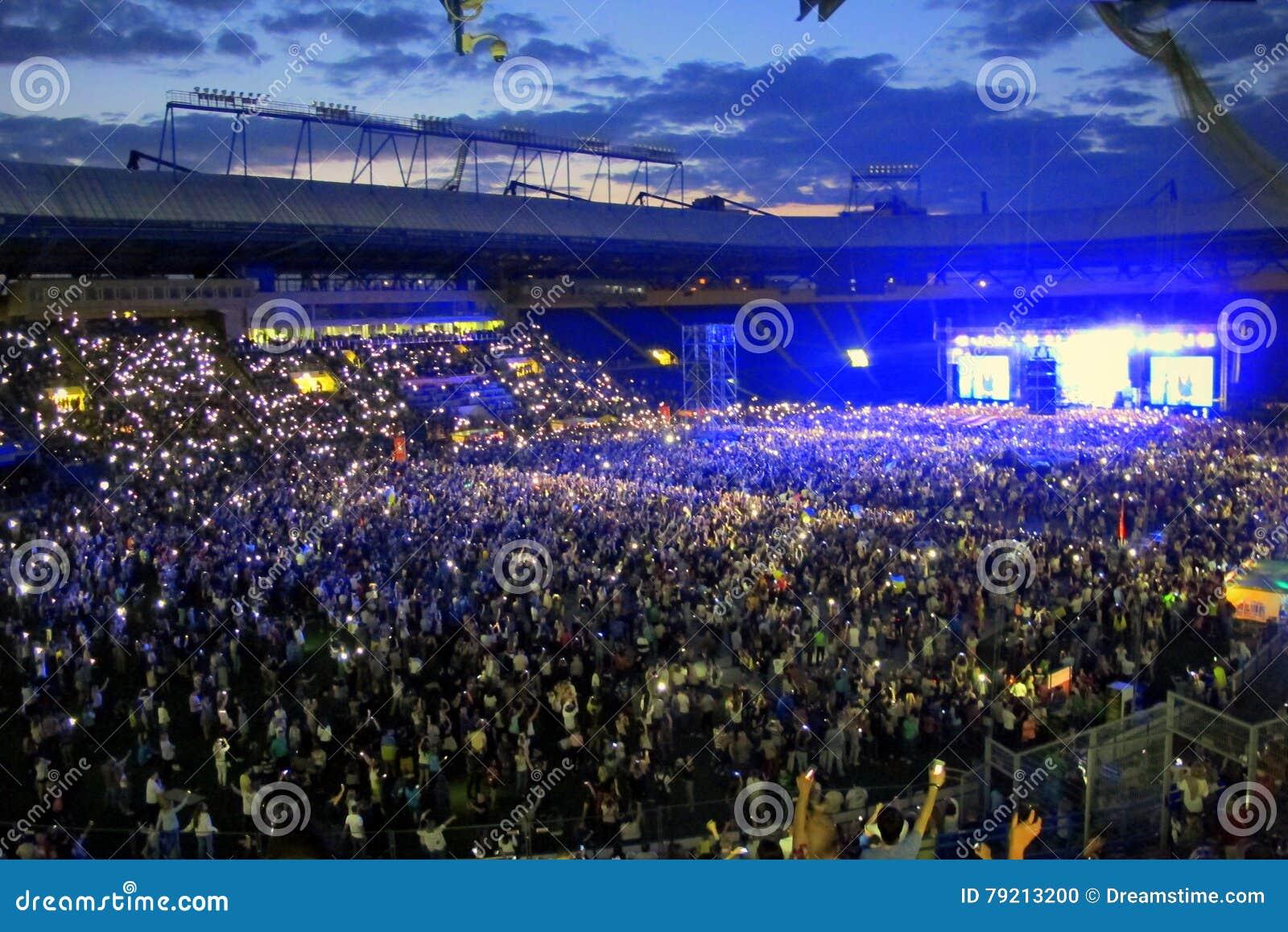 Συναυλία στο στάδιο στην Ουκρανία