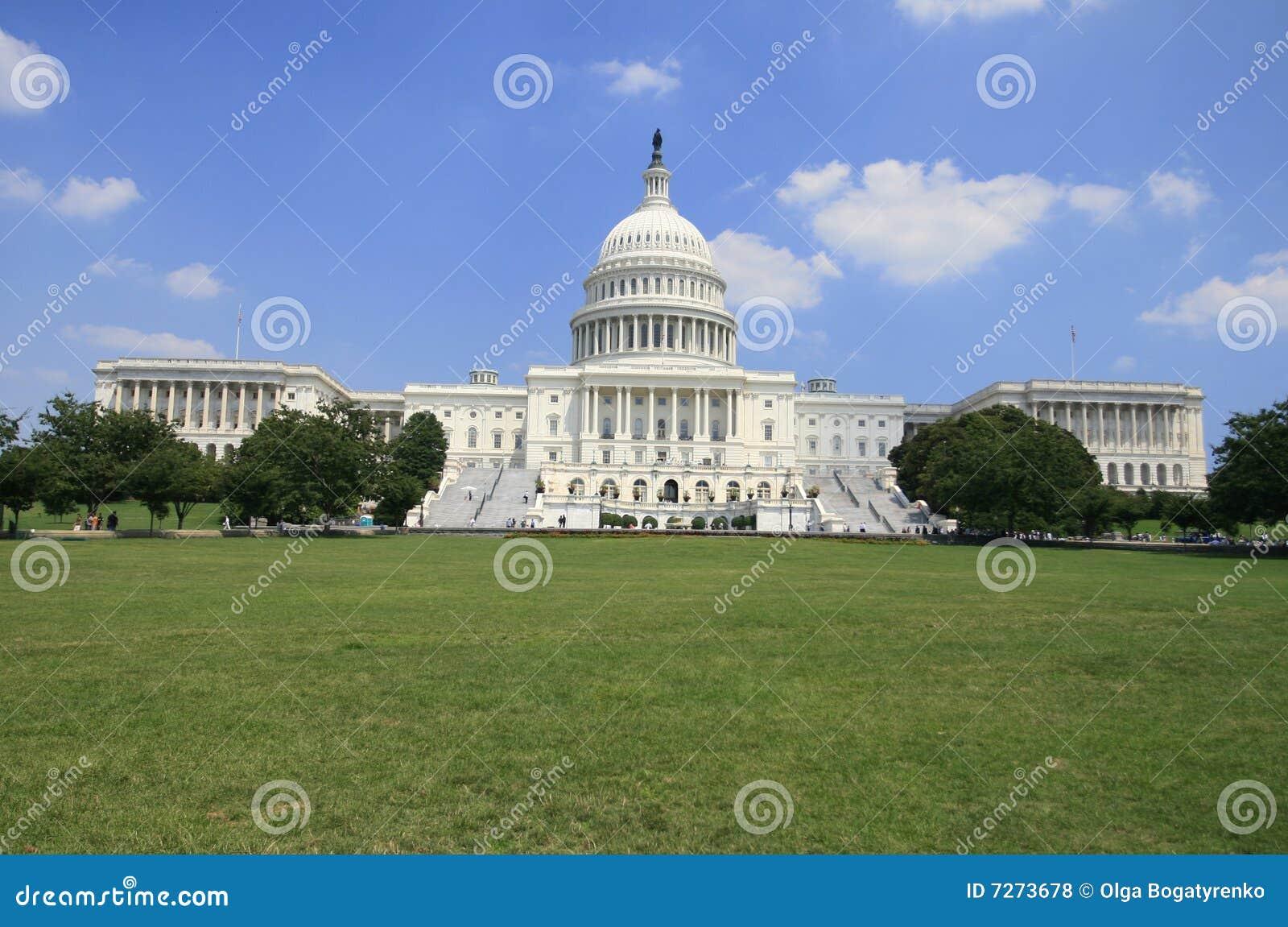 συνεχές ρεύμα Ουάσιγκτον capitol οικοδόμησης