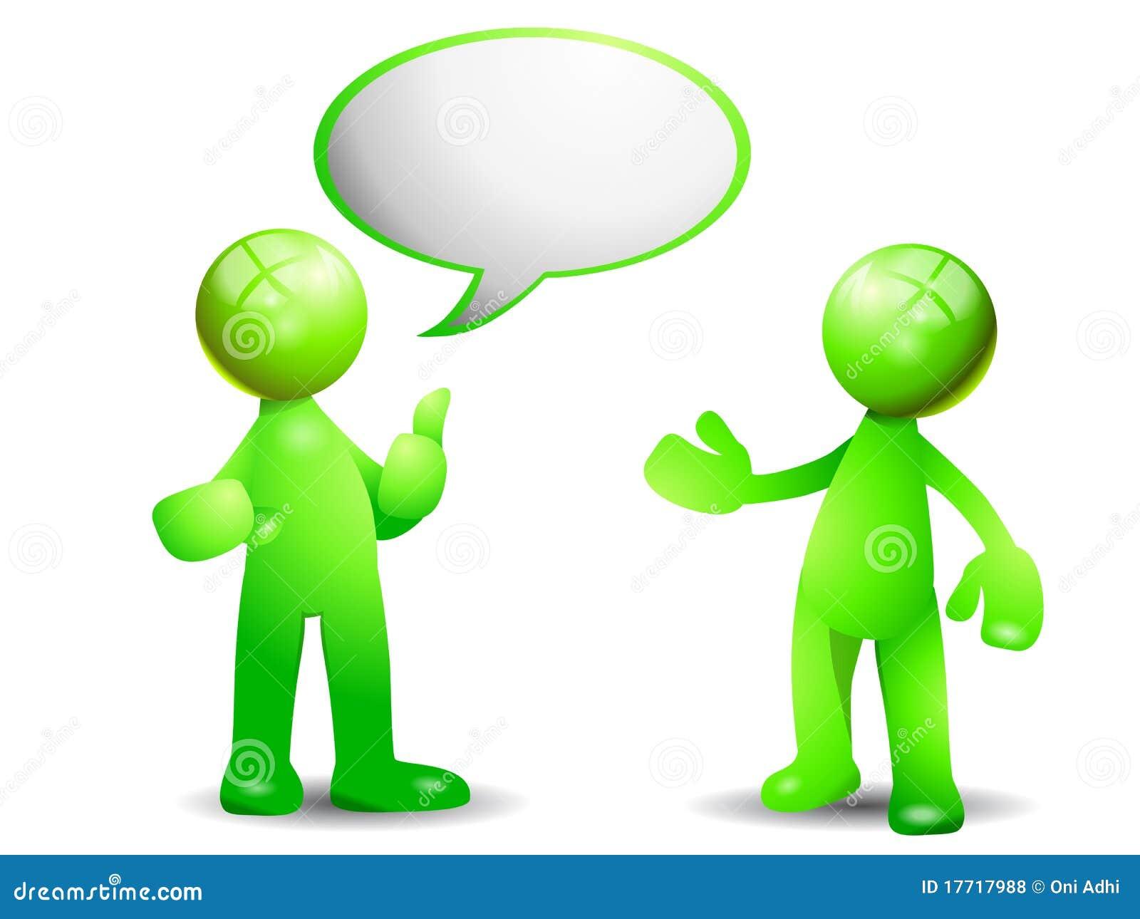 συνομιλία πράσινη