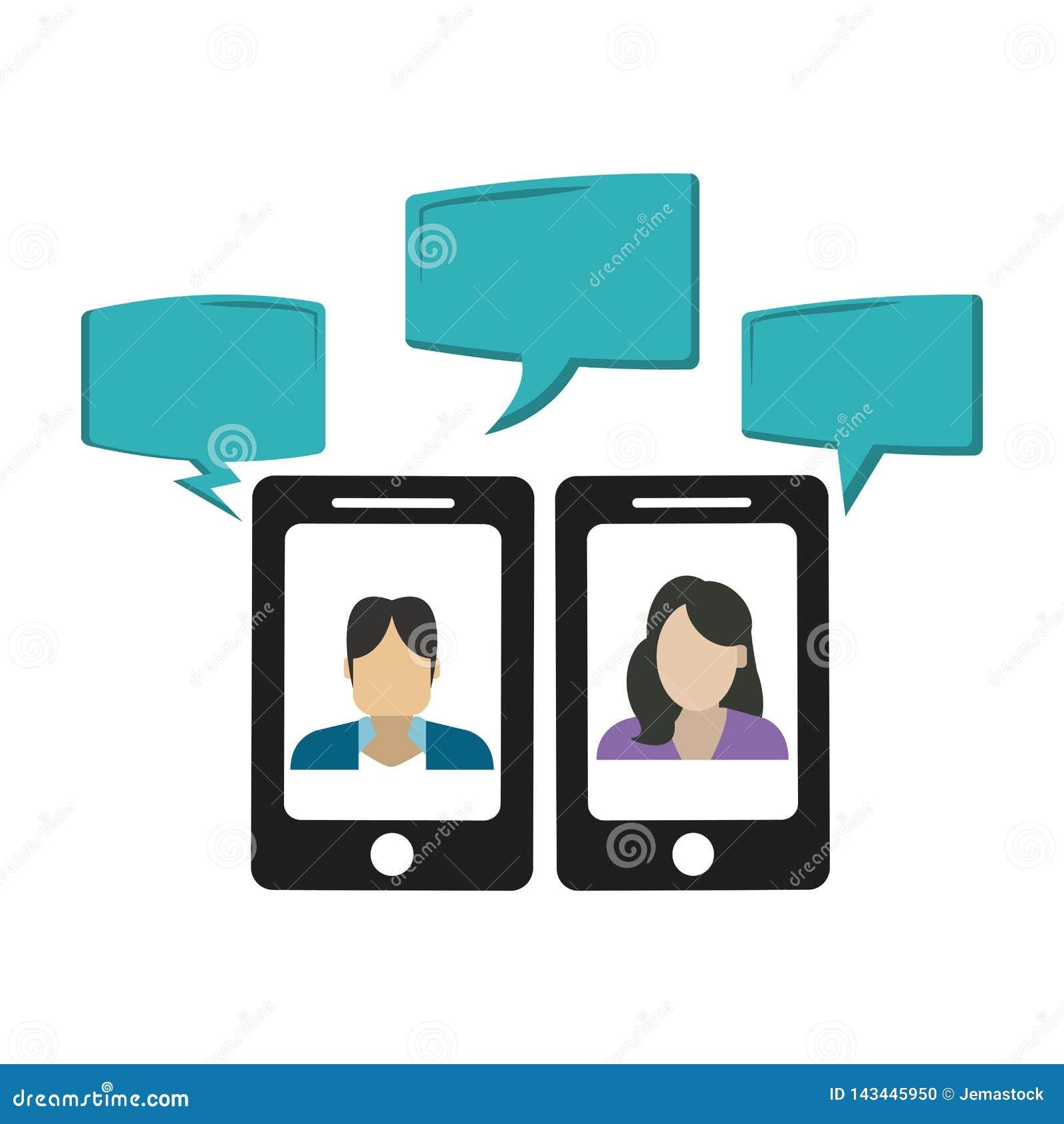 Συνομιλίες στο smartphone