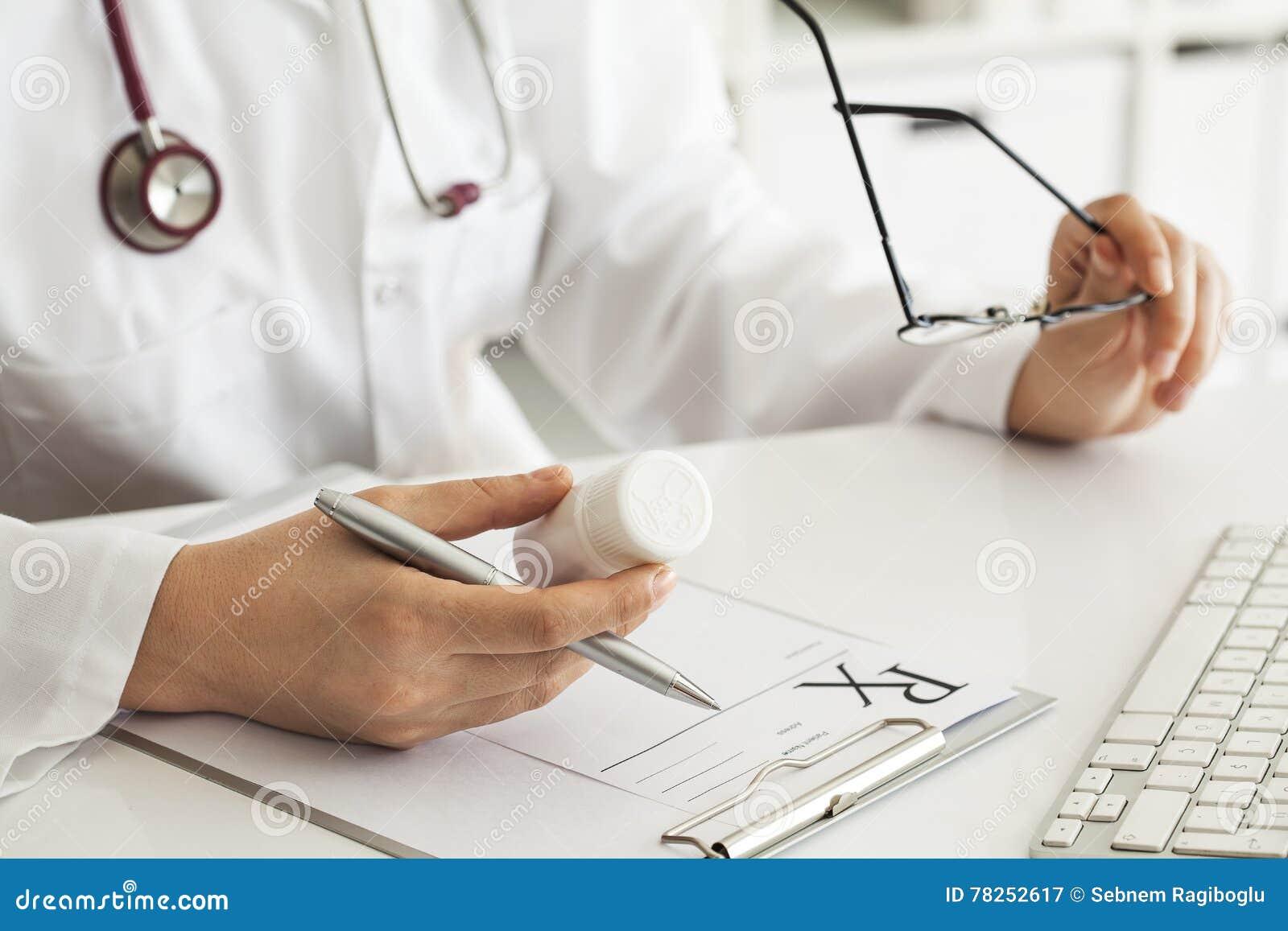 Συνταγή γραψίματος γιατρών γυναικών