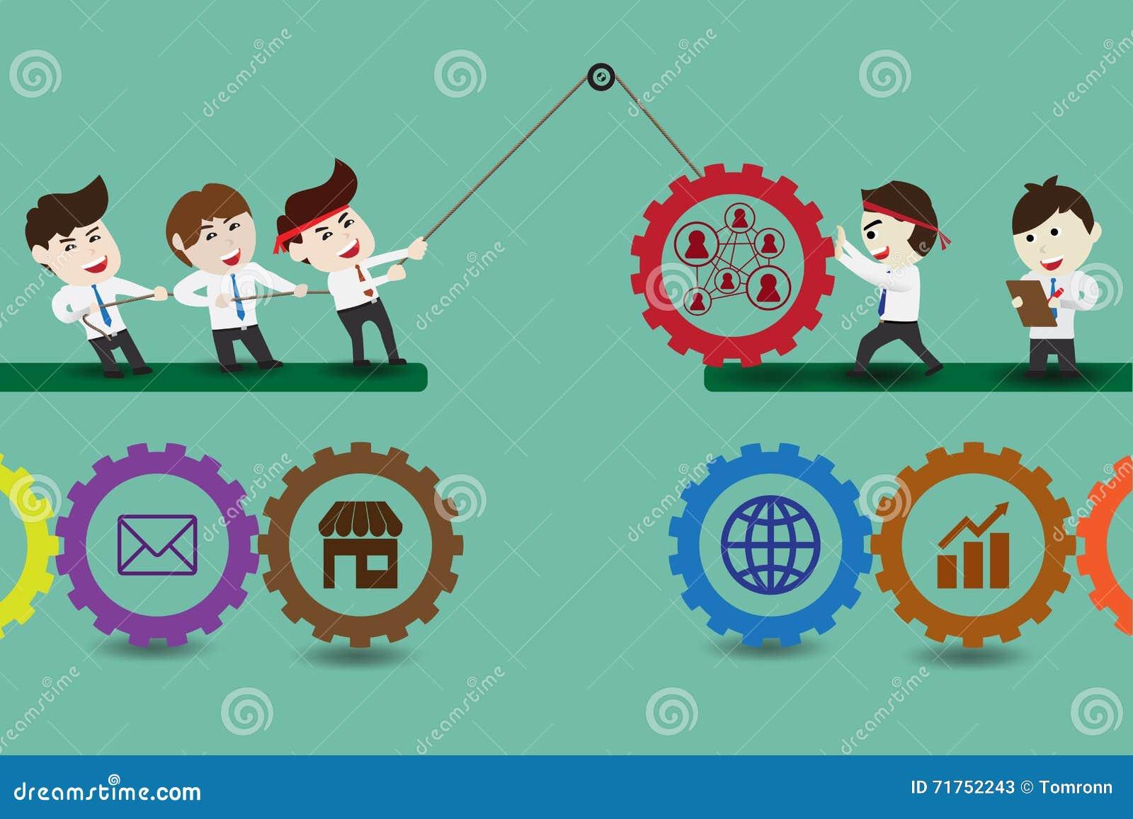 Συστατικά της ομαδικής εργασίας που οδηγούν στην επιτυχή επιχείρηση