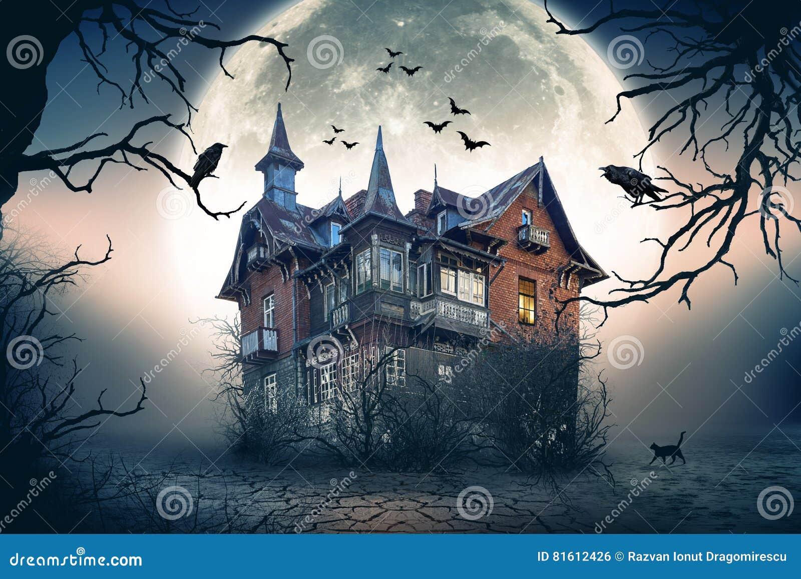 Συχνασμένο απόκοσμο σπίτι