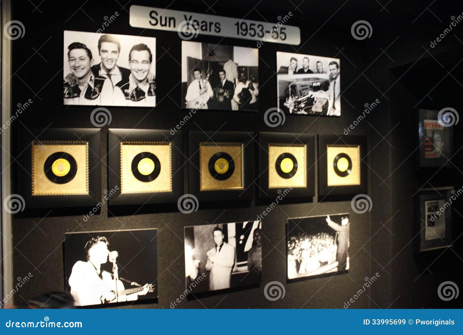 Συλλογή ετών ήλιων του Elvis Presley Graceland
