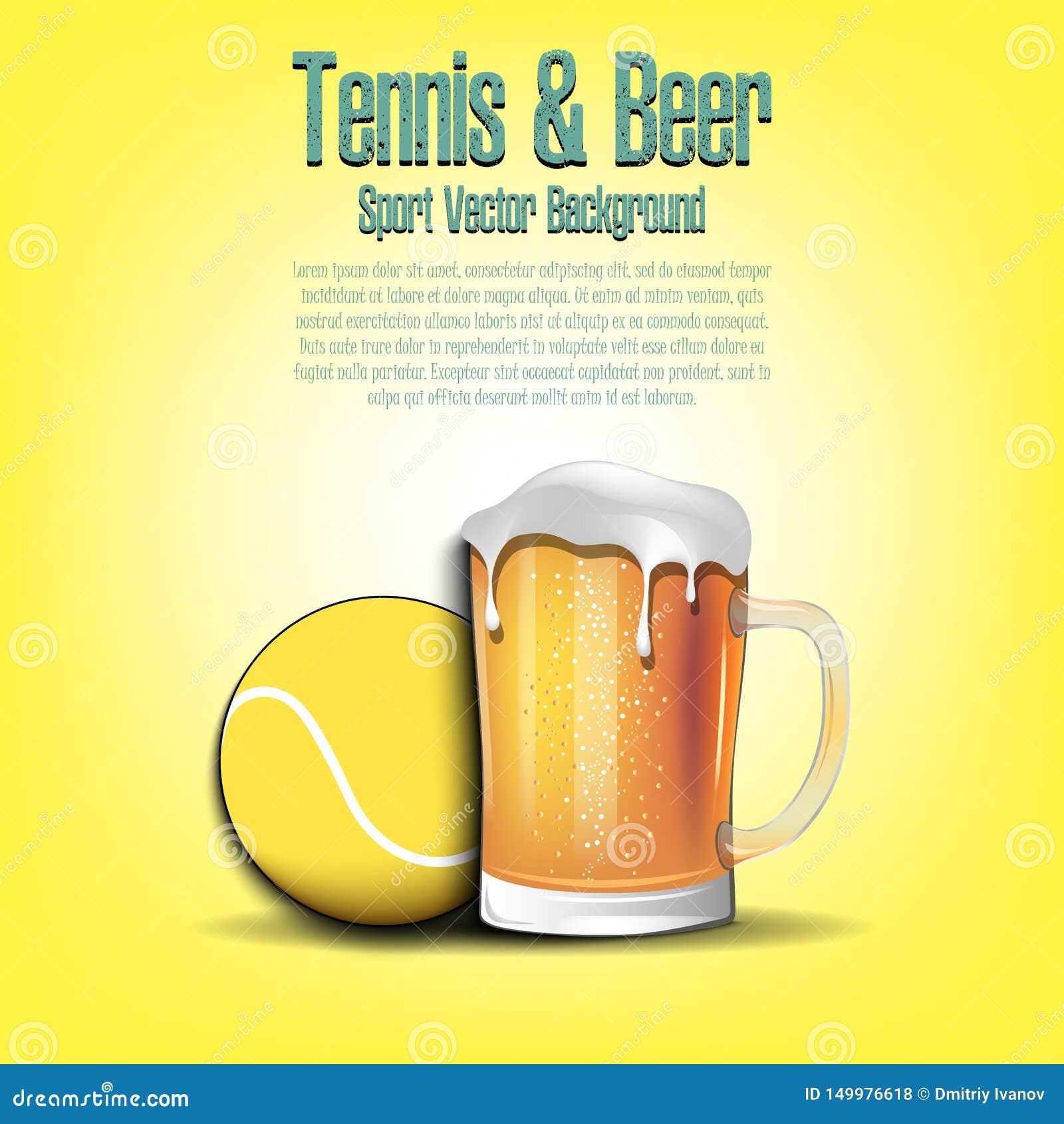 Σφαίρα αντισφαίρισης με την κούπα της μπύρας
