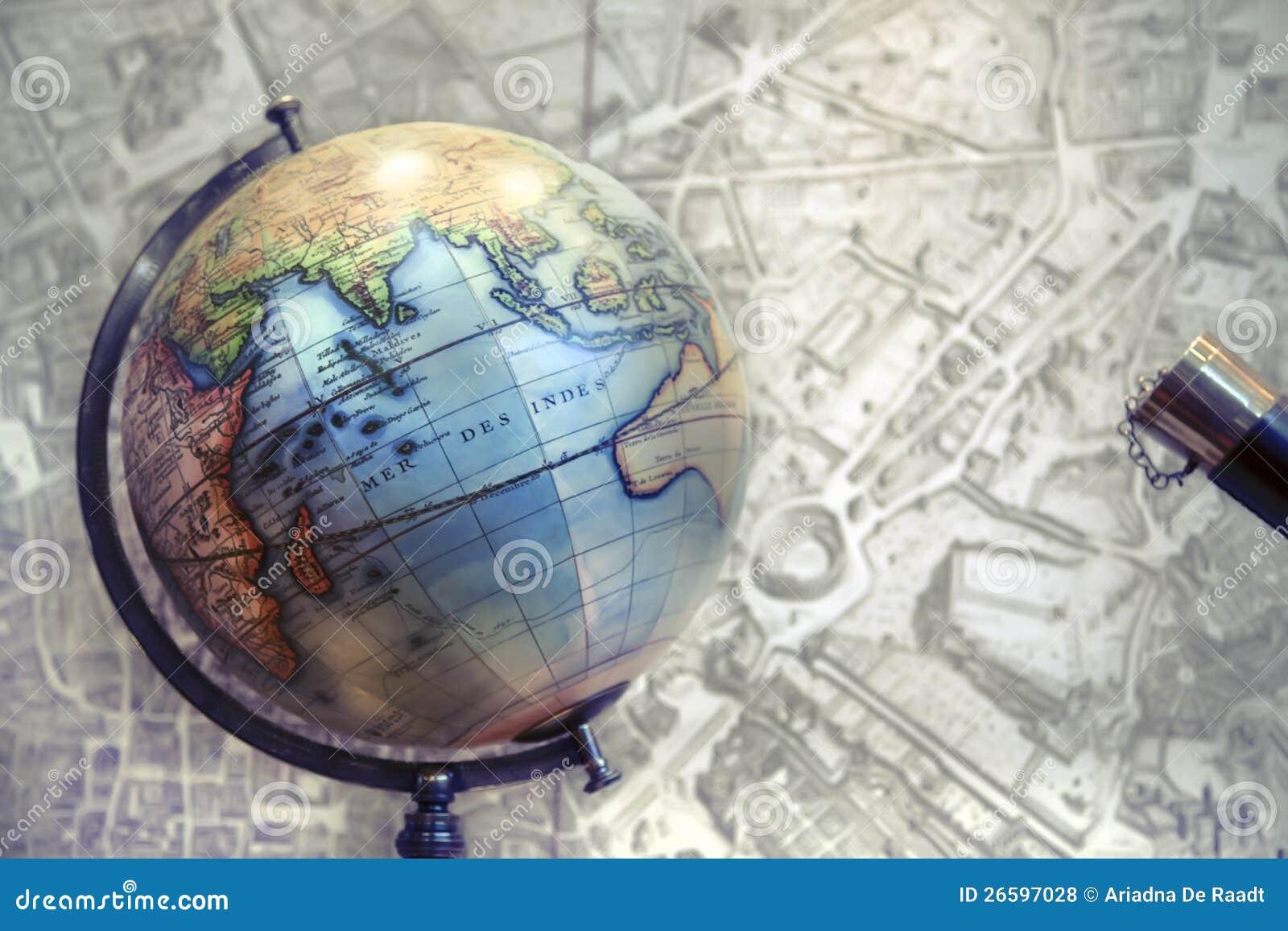 Σφαίρα και χάρτης