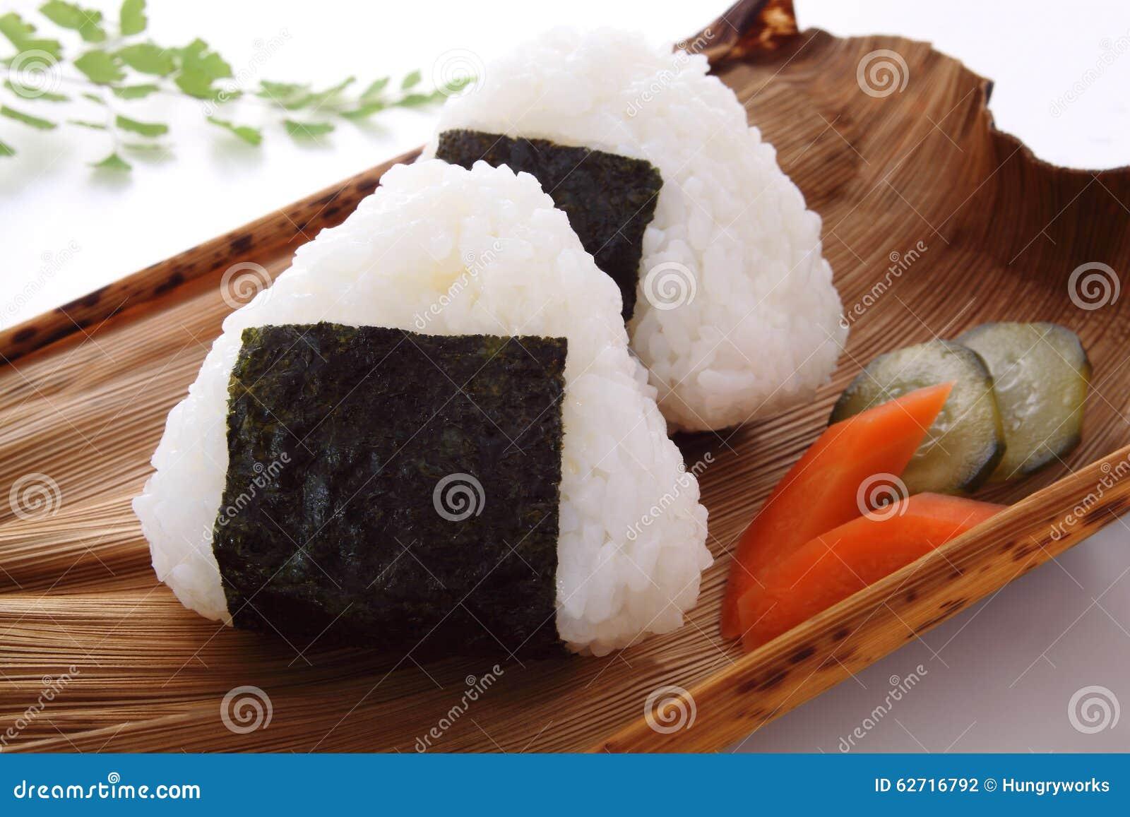 Σφαίρα ρυζιού, Onigiri