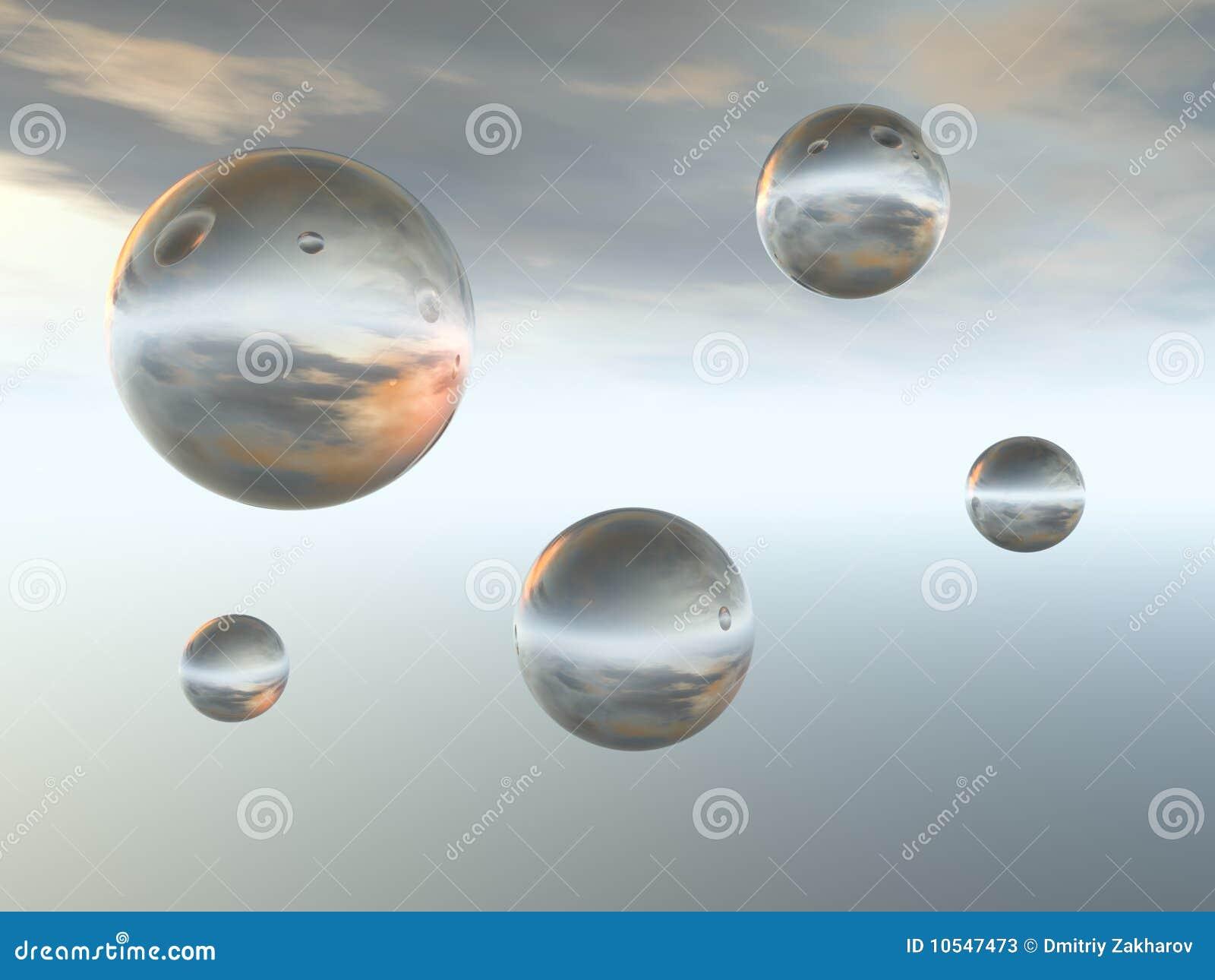 σφαίρες γυαλιού