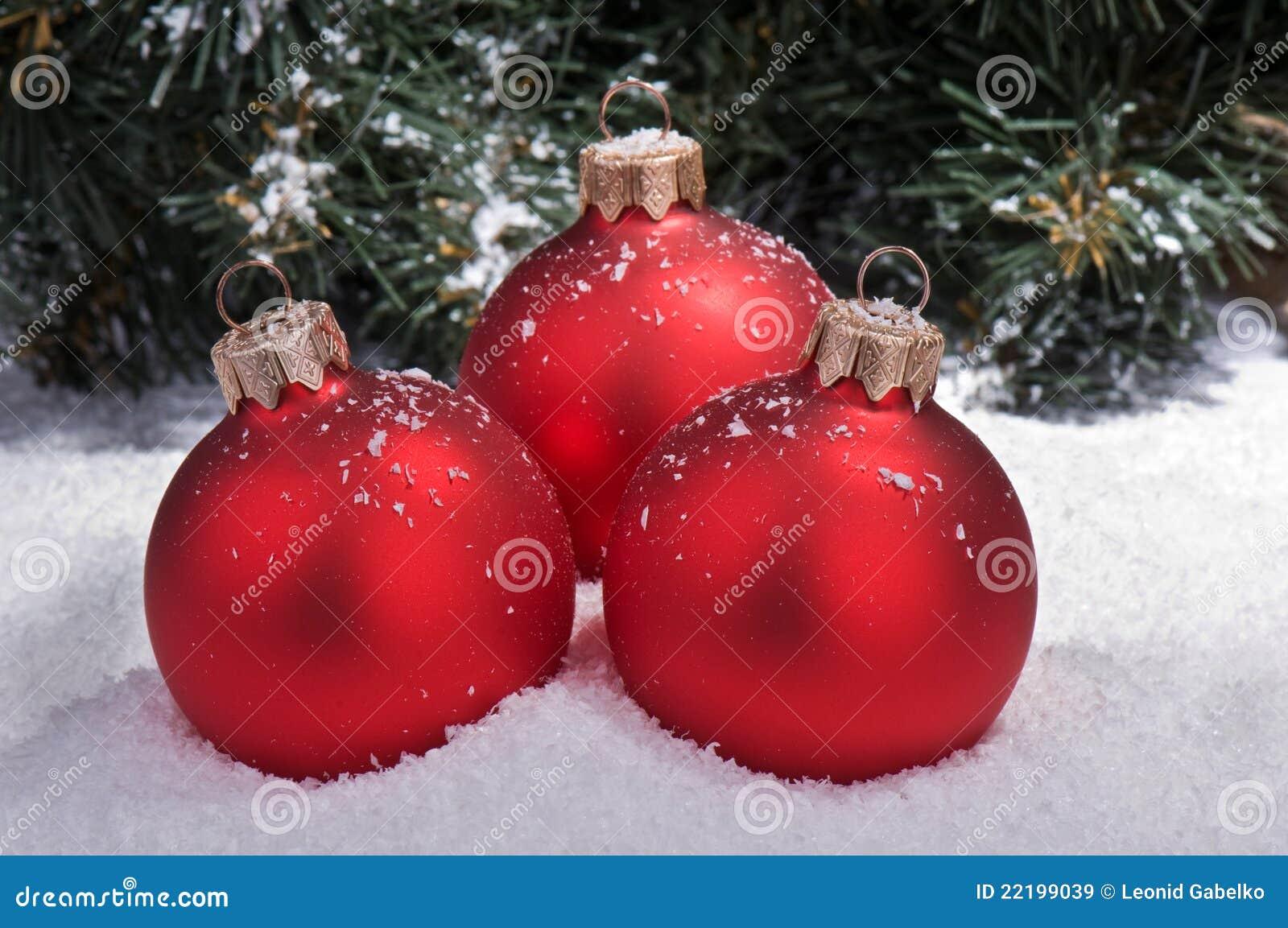 σφαίρες χιονιού Χριστου