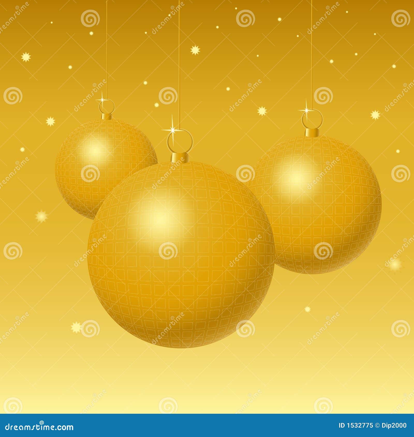 σφαίρες χρυσές