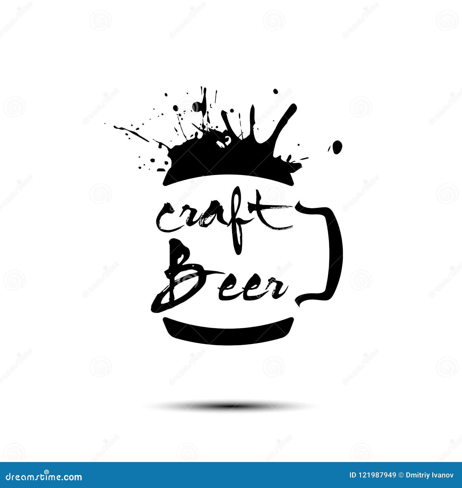 Σχέδιο προτύπων λογότυπων τεχνών μπύρας