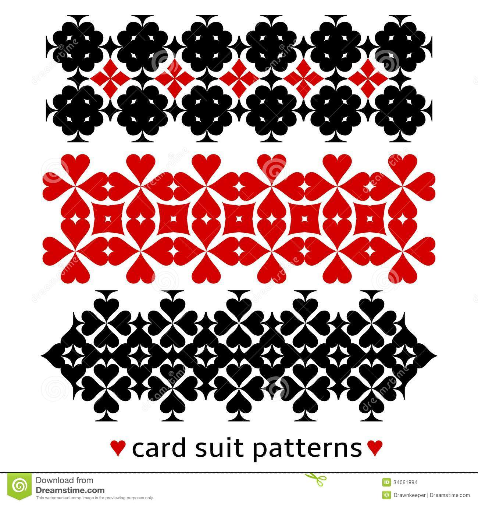 Σχέδια με τα κοστούμια καρτών