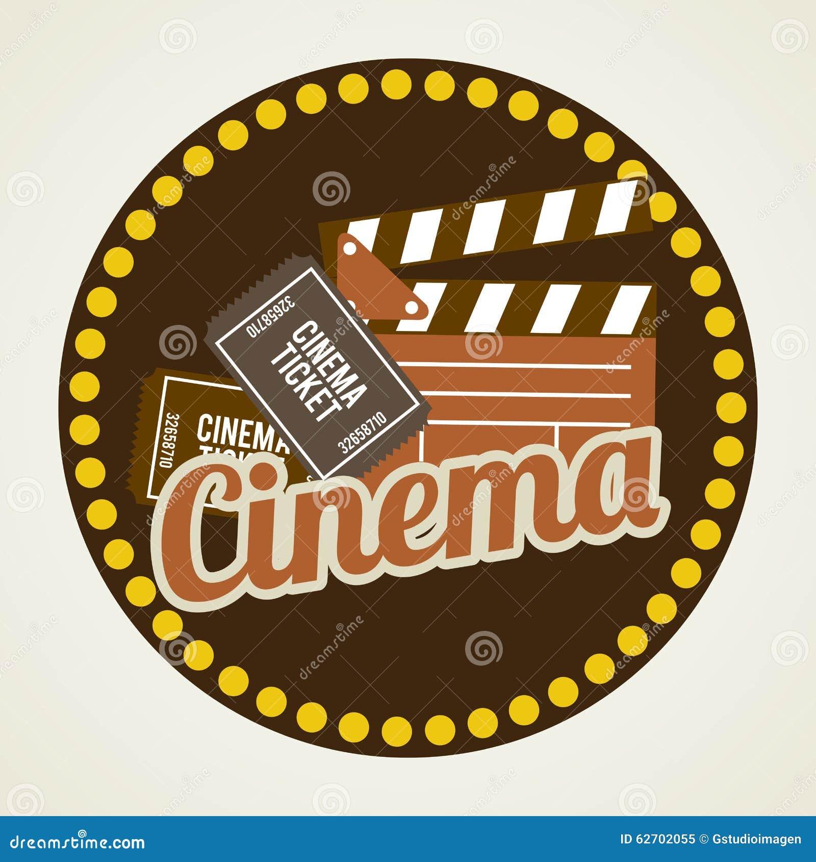 Σχέδιο εικονιδίων κινηματογράφων