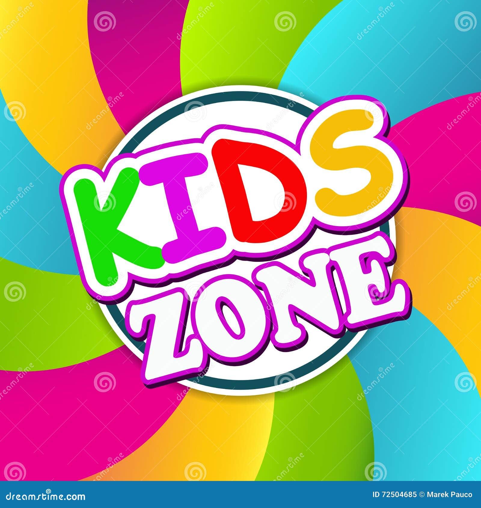 Σχέδιο εμβλημάτων ζώνης παιδιών