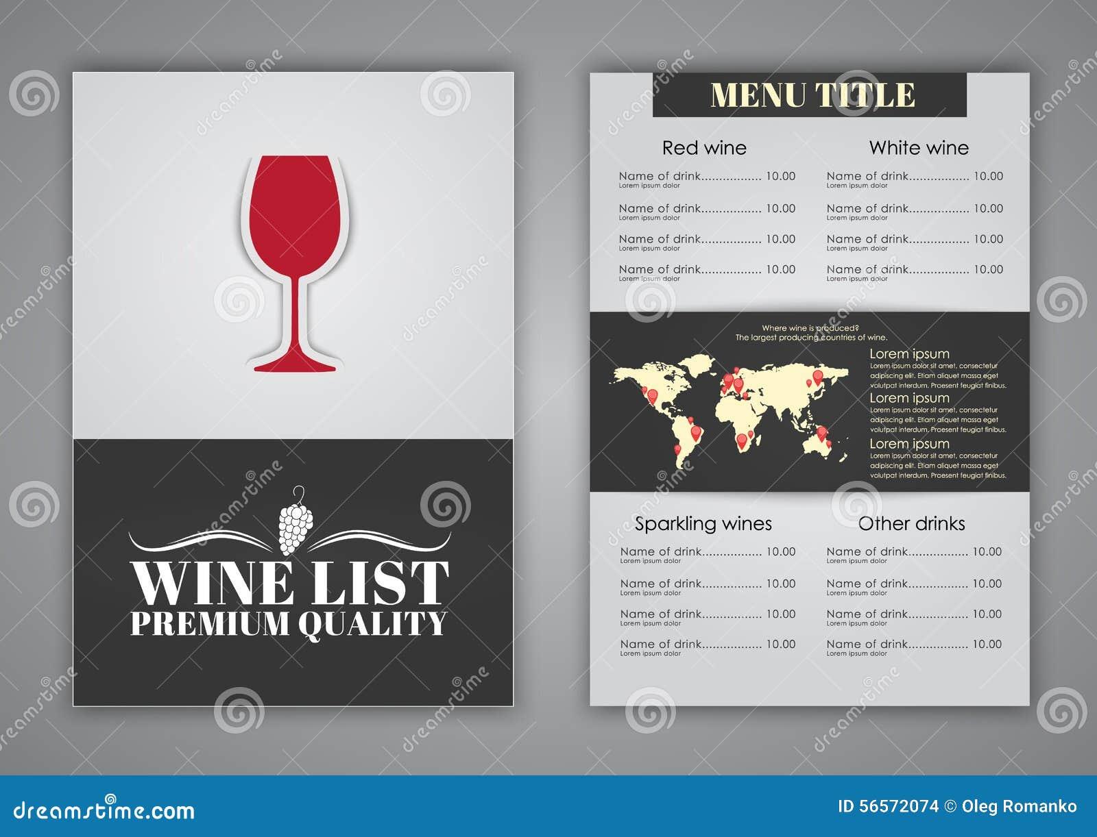 Download Σχέδιο επιλογών για τους καφέδες κρασιού, εστιατόρια Διανυσματική απεικόνιση - εικονογραφία από πλαίσιο, ανασκόπησης: 56572074