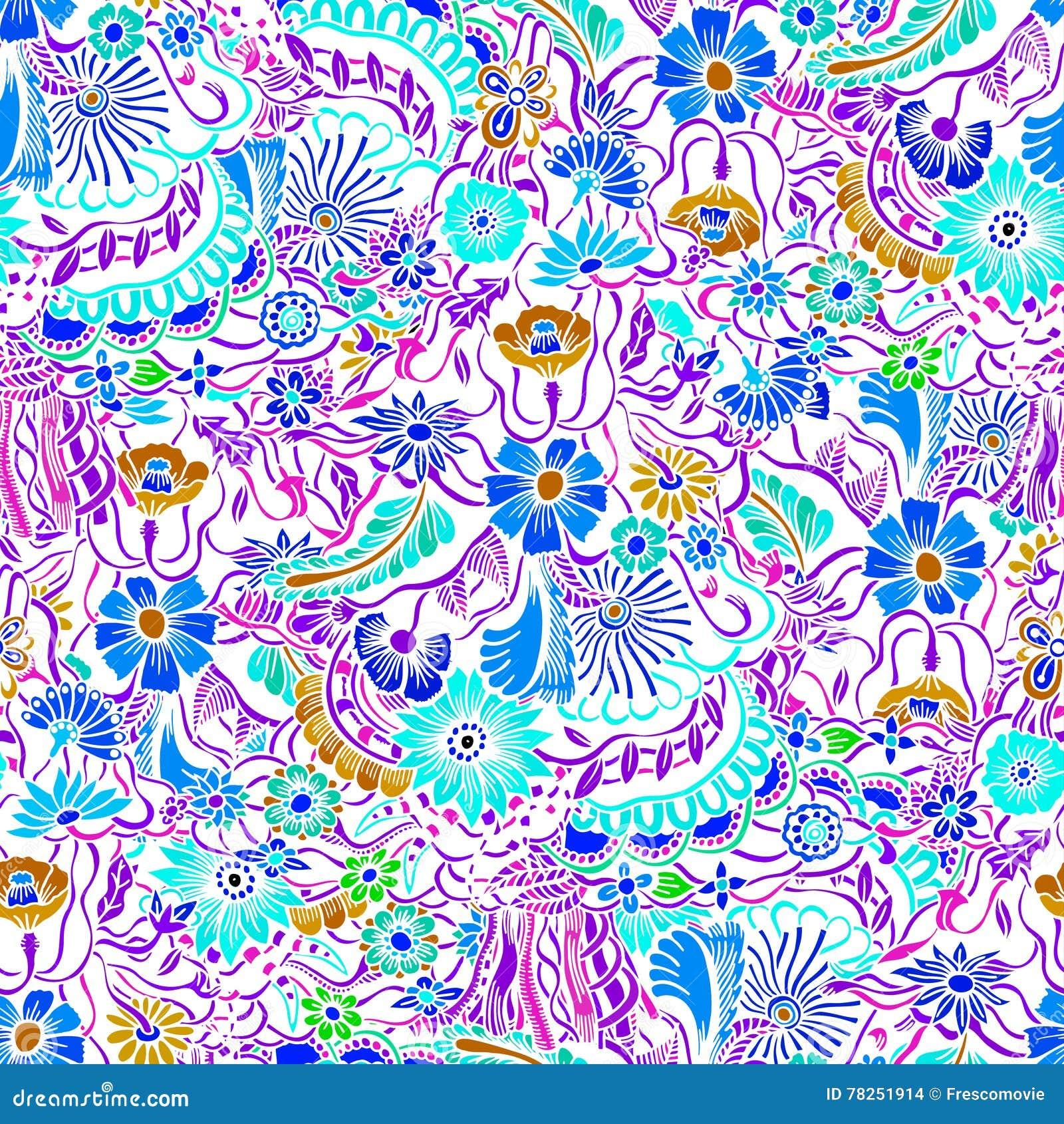 Σχέδιο με τα λουλούδια κήπων