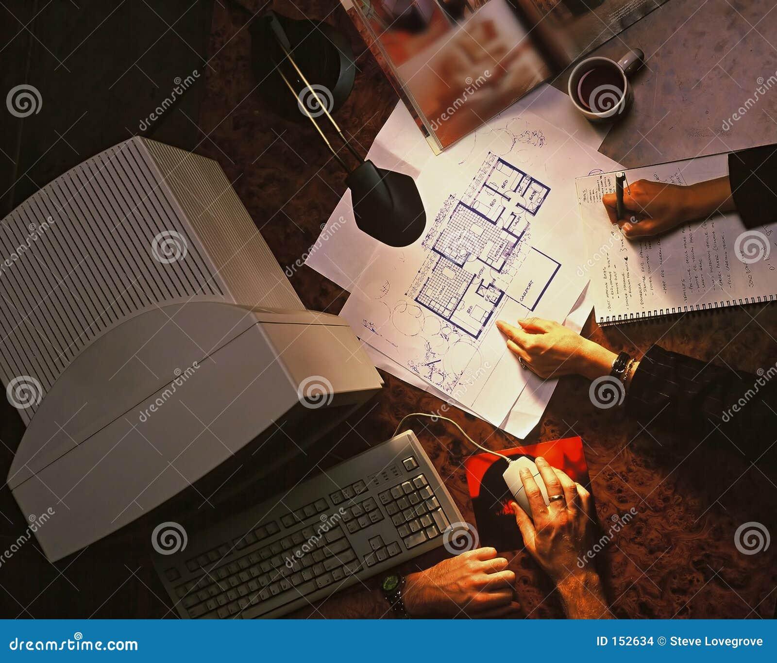 σχεδιάστε το σπίτι