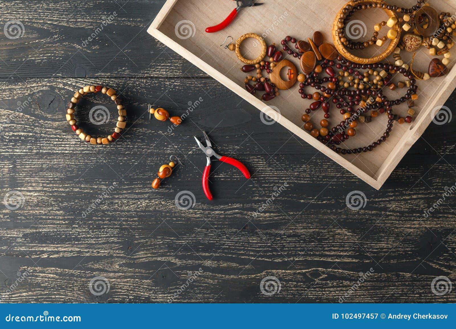 Σχεδιασμός της έννοιας, handcraft χάντρες στον πίνακα για το χόμπι