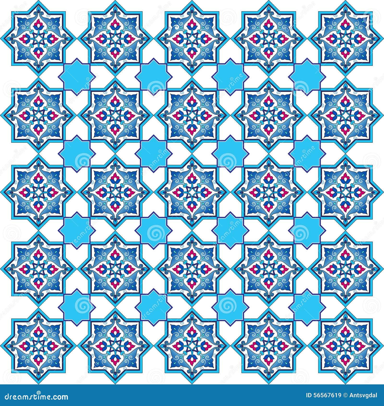 Download Σχεδιασμένος με τις σκιές της μπλε οθωμανικής σειράς πέντε σχεδίων Διανυσματική απεικόνιση - εικονογραφία από παλαιός, απεικόνιση: 56567619