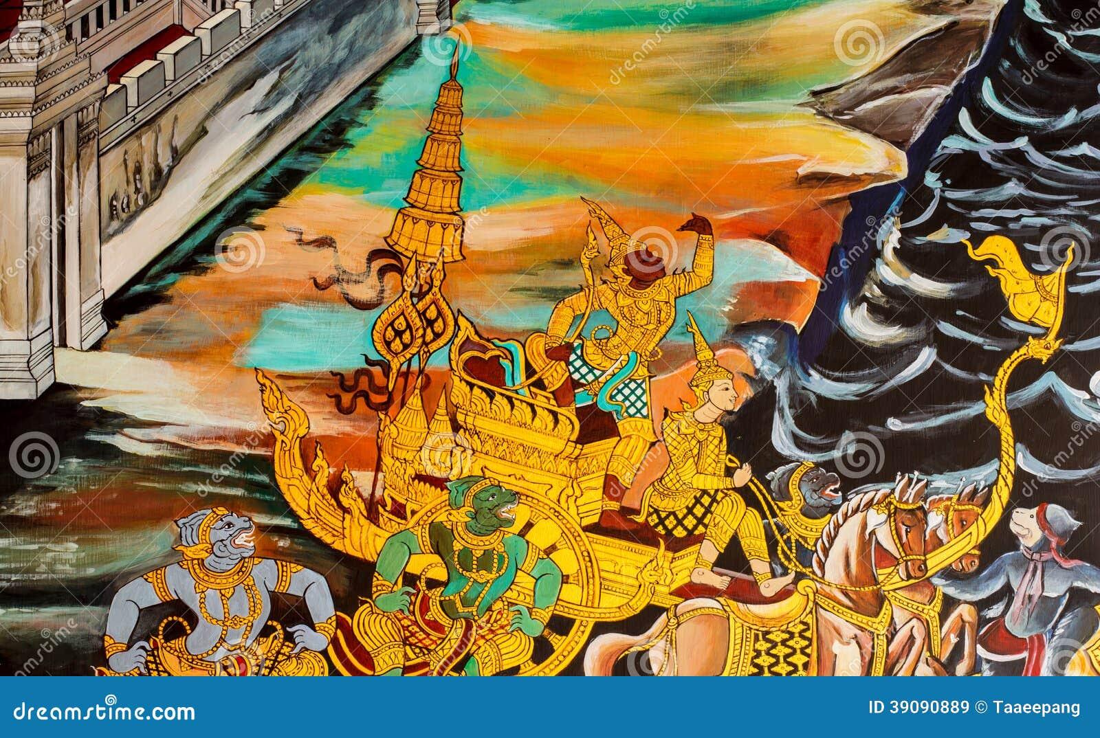 Σχεδιασμός στο ναό Ταϊλάνδη
