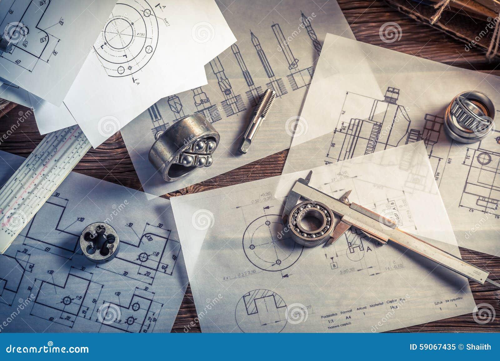 Σχεδιασμός των μηχανικών μερών από το μηχανικό