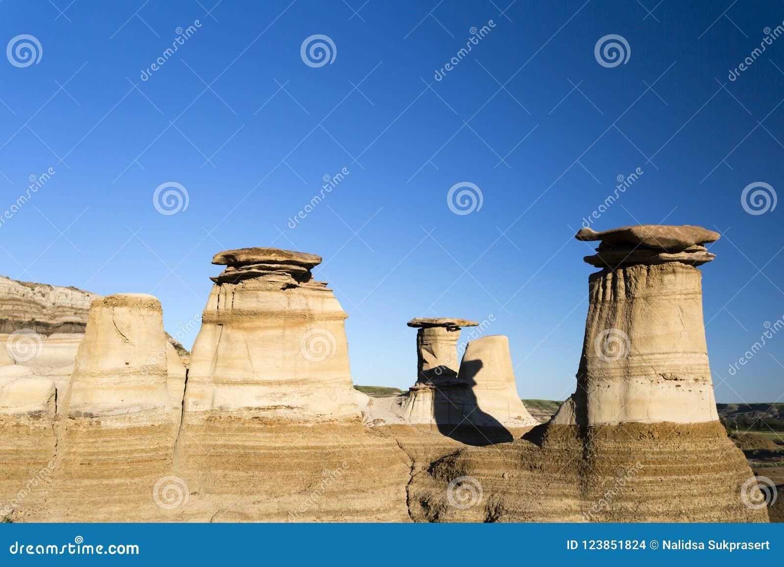Σχηματισμός βράχου Hoodoo