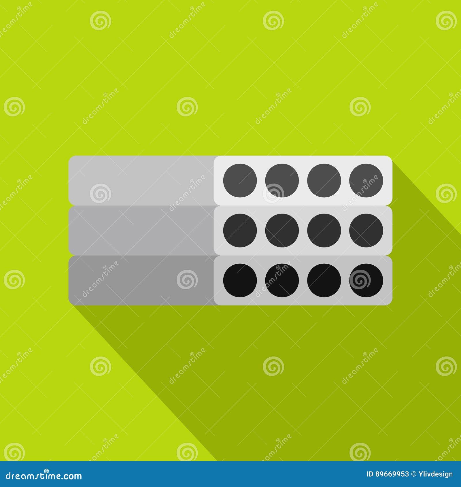 Σωρός του προκατασκευασμένου ενισχυμένου εικονιδίου τσιμεντένιων πλακών
