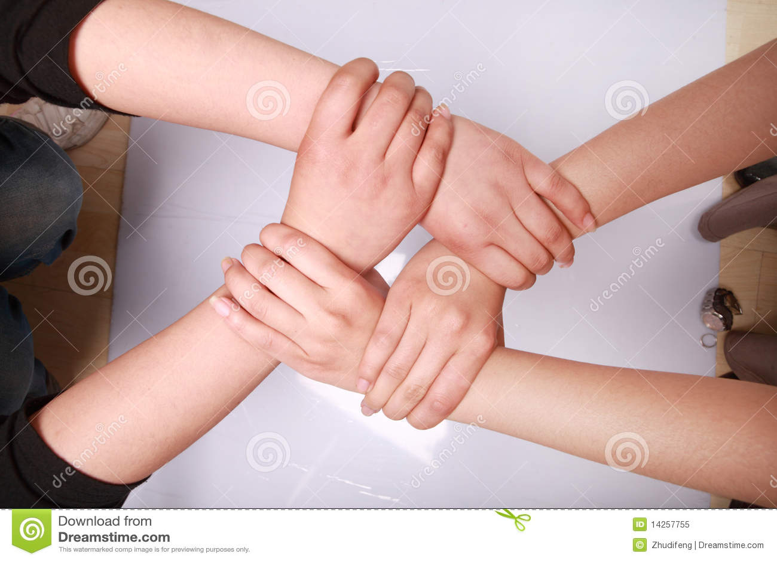 σωρός χεριών