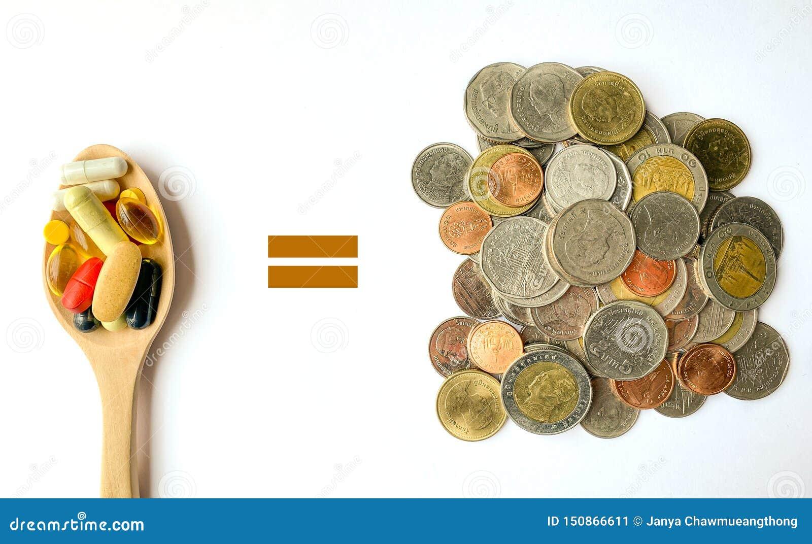 Σύγκριση των χρημάτων & των φαρμάκων