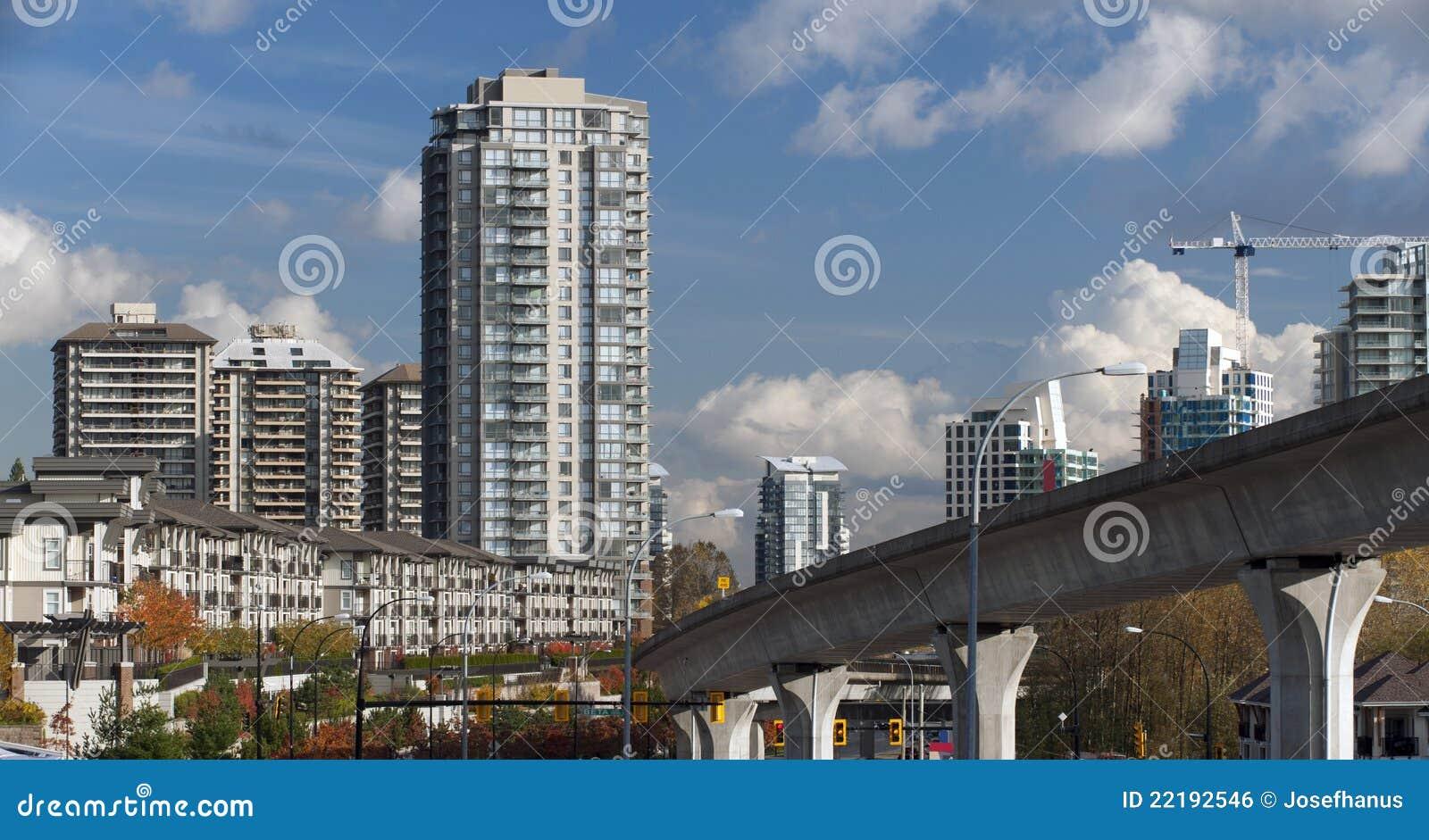 σύγχρονα townhouses του Καναδά κτ&et