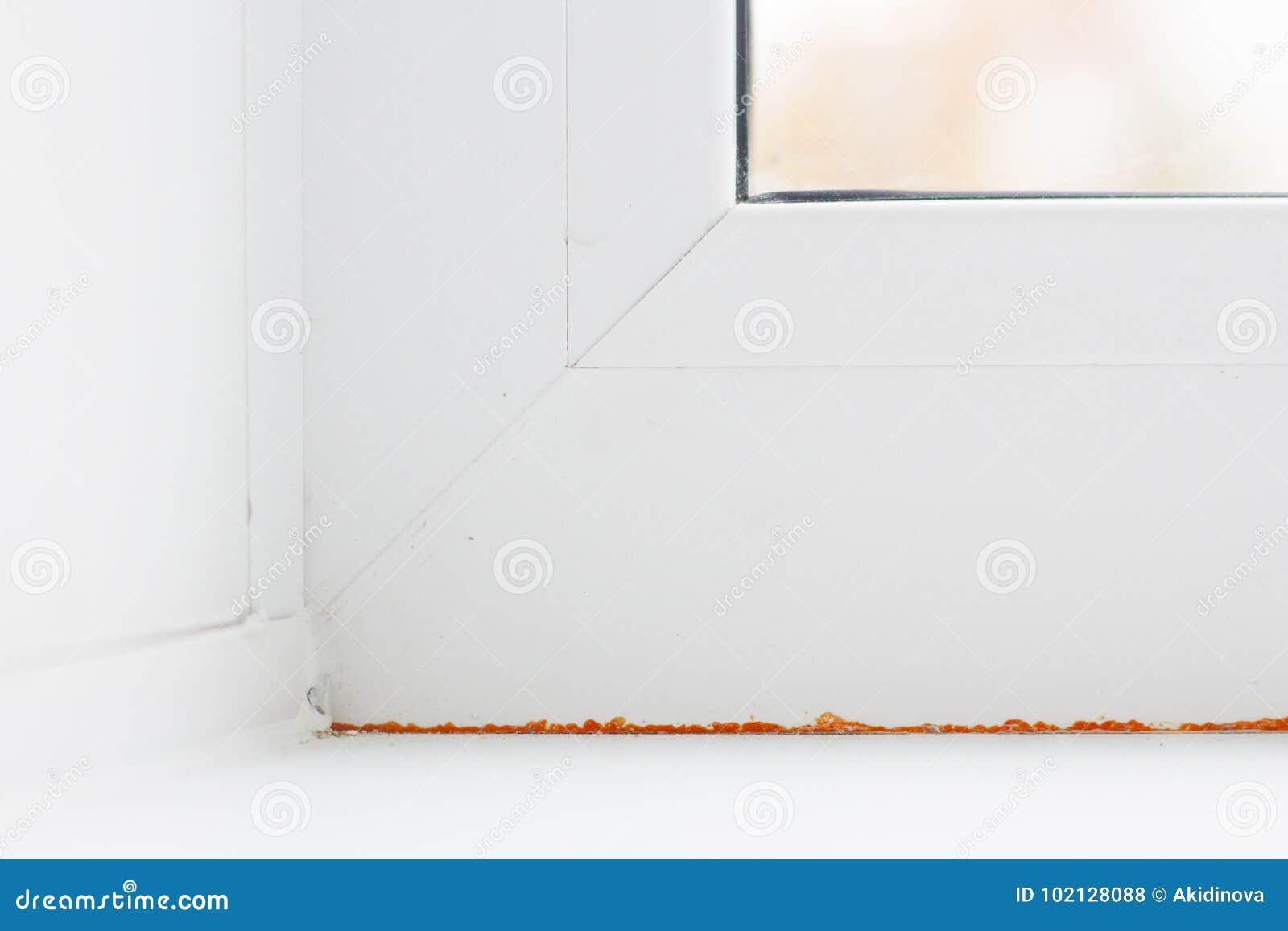 Σύγχρονες μέταλλο-πλαστικές παράθυρο και πόρτα στο νέο διαμέρισμα