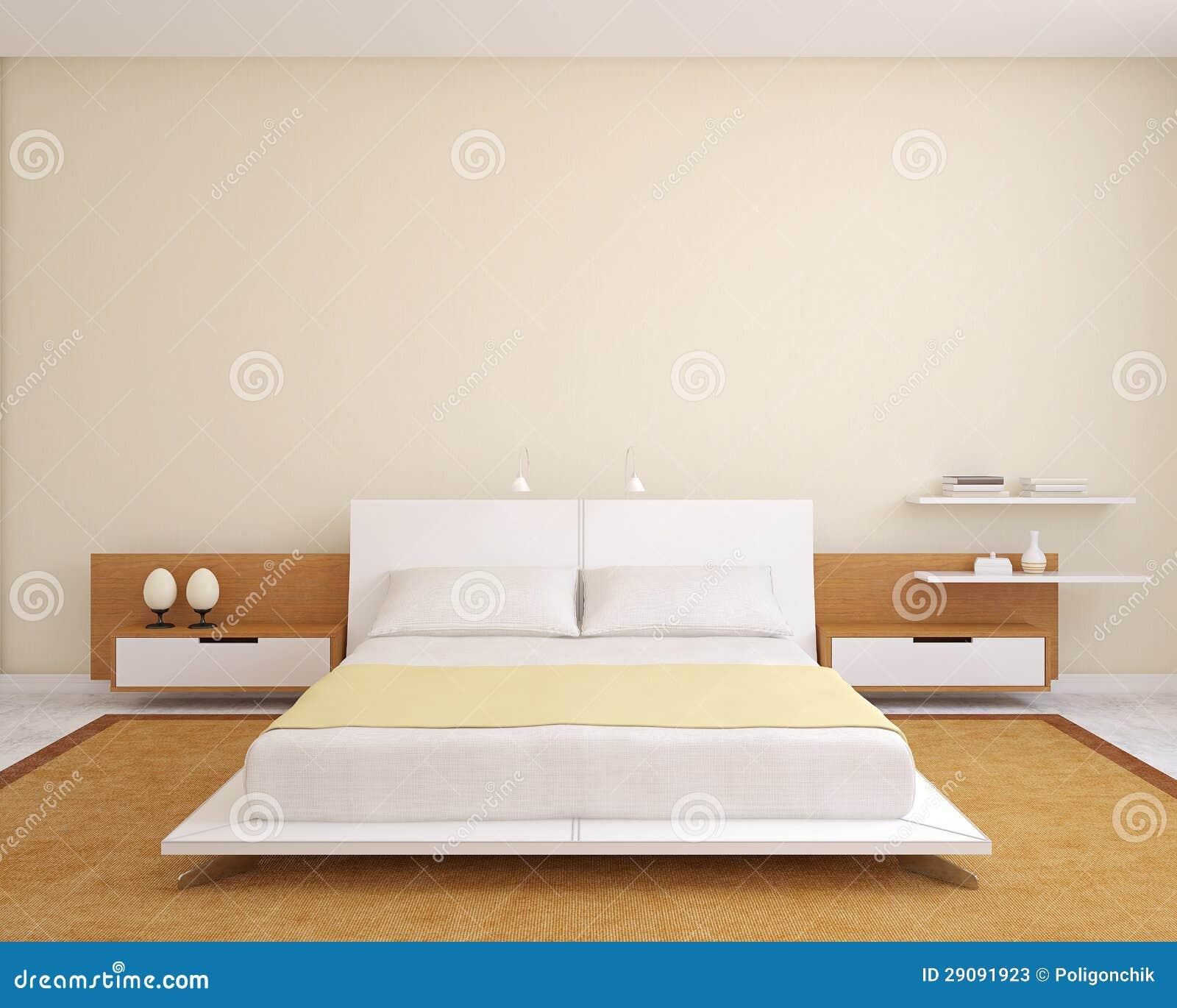 Σύγχρονη κρεβατοκάμαρα.