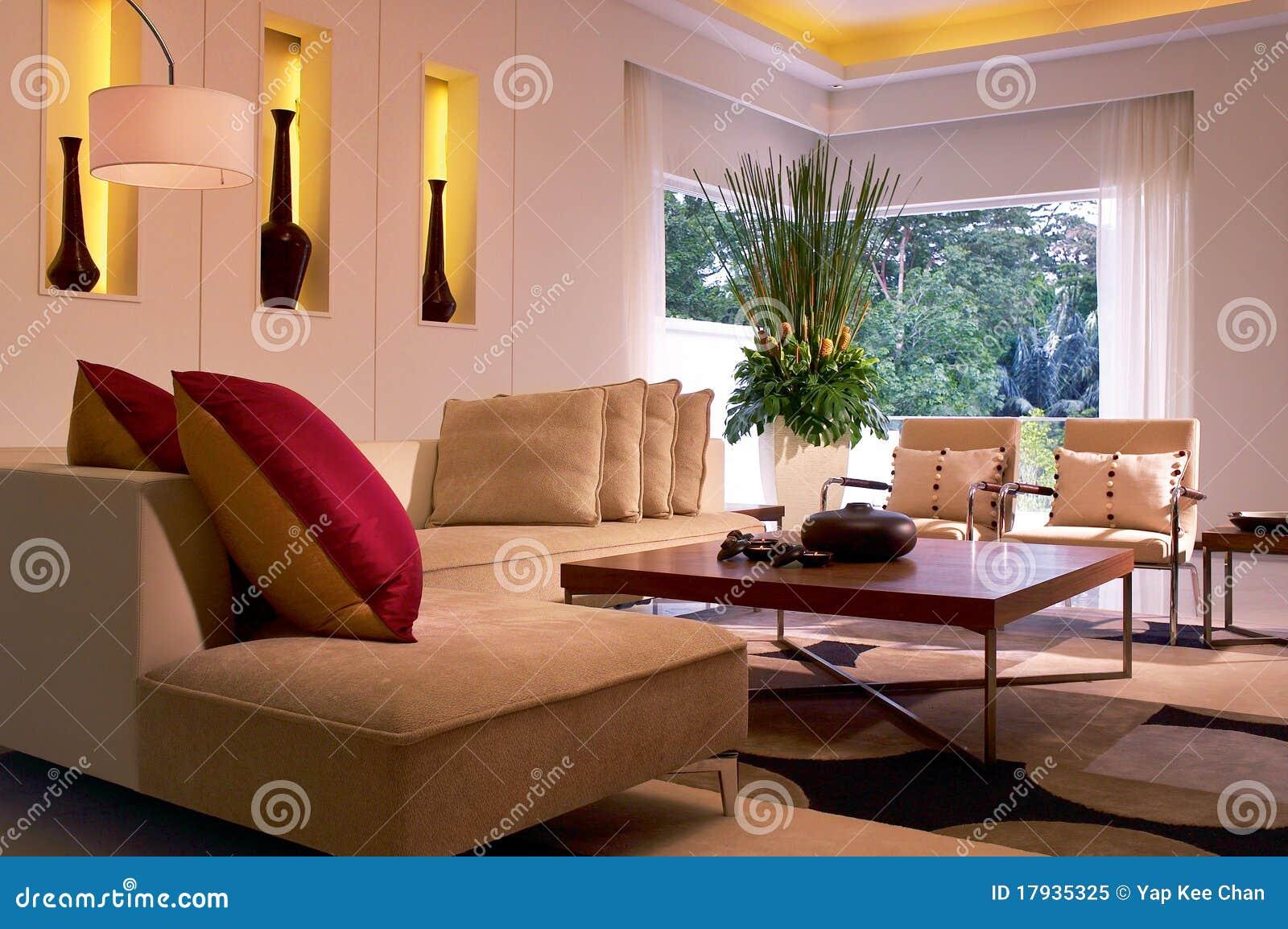 σύγχρονο δωμάτιο διαβίωσ&