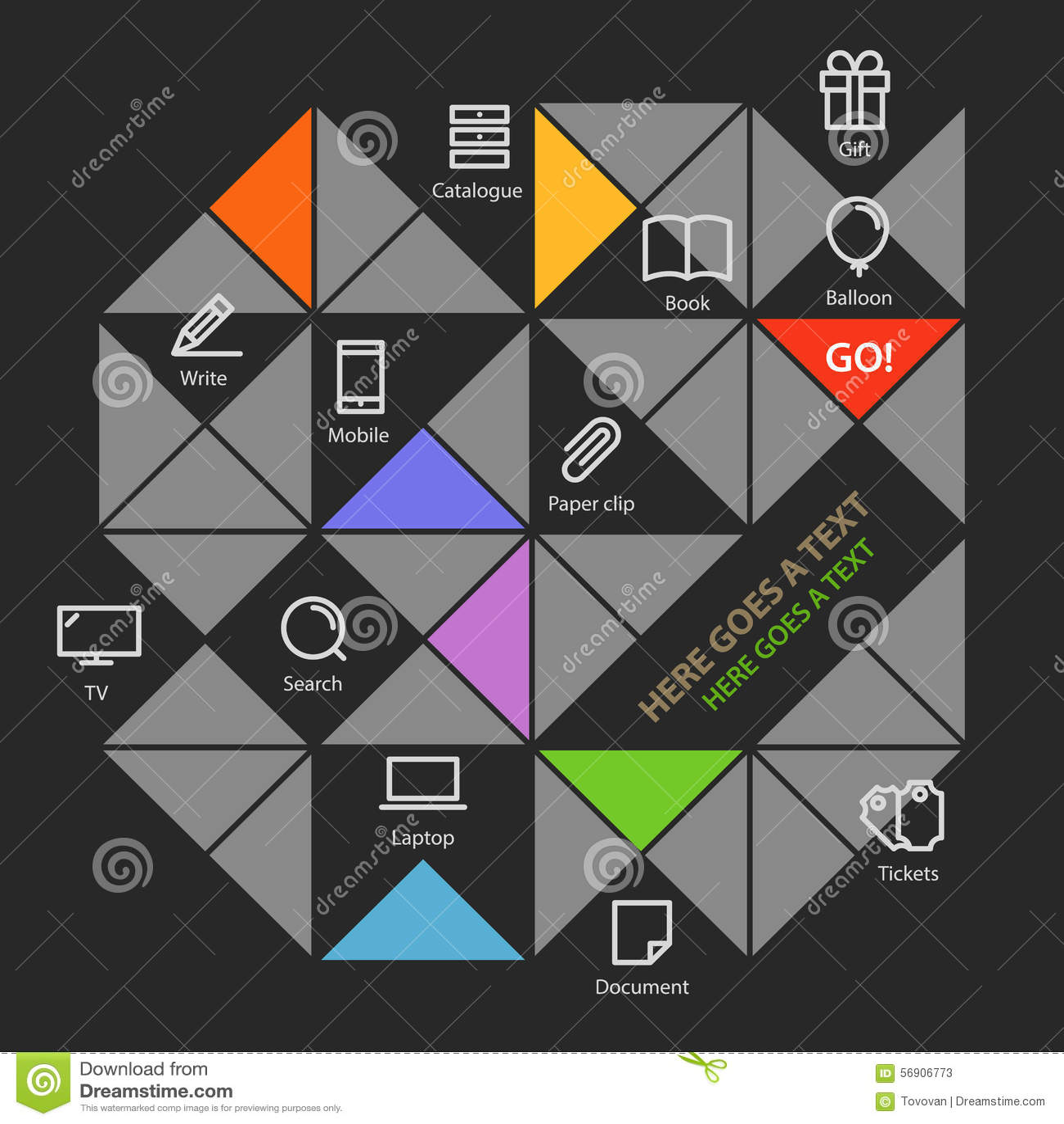 Σύγχρονο ικανοποιημένο πρότυπο μέσων χρώματος κοινωνικό