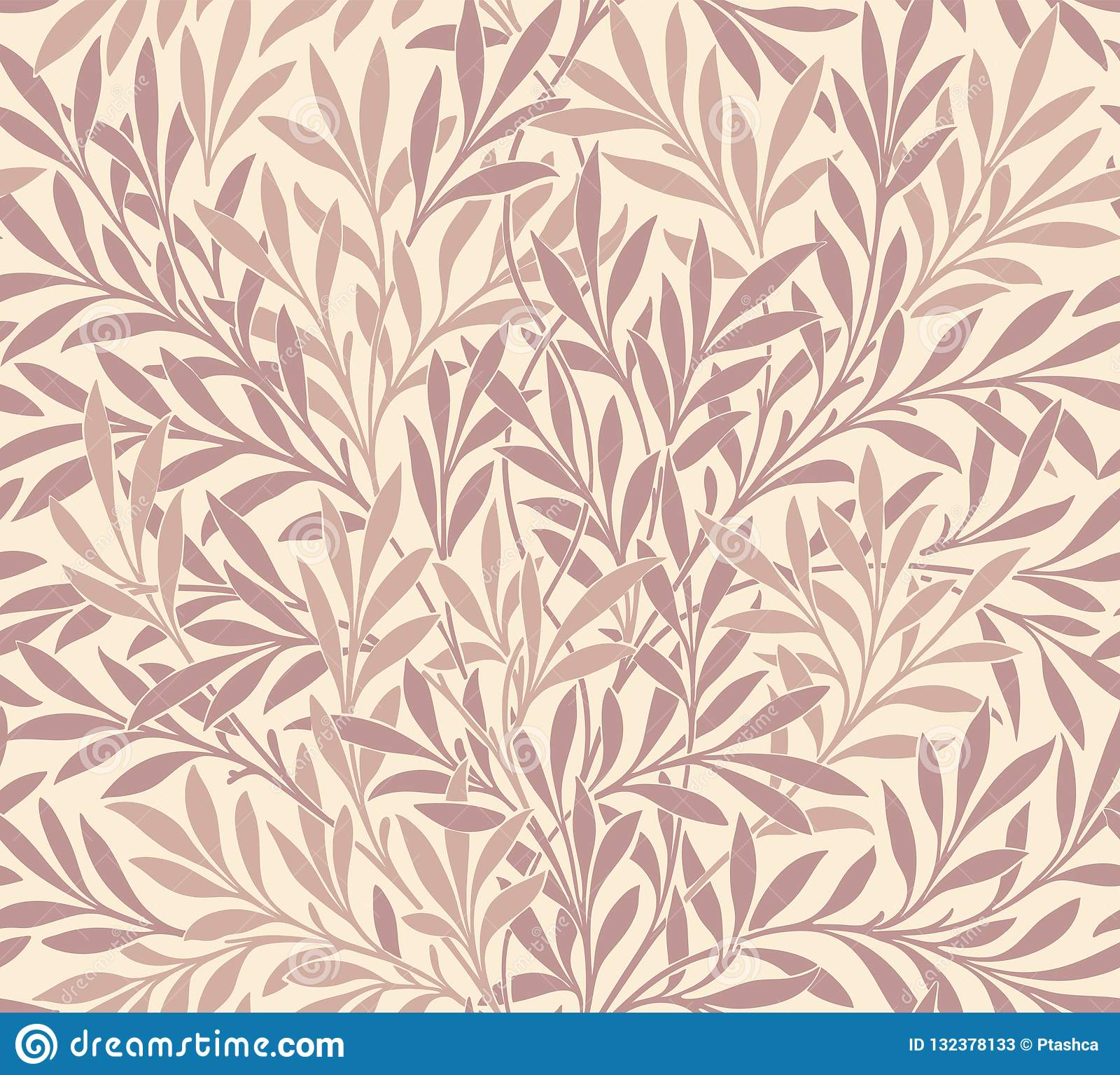 Σύγχρονο floral άνευ ραφής σχέδιο για το σχέδιό σας