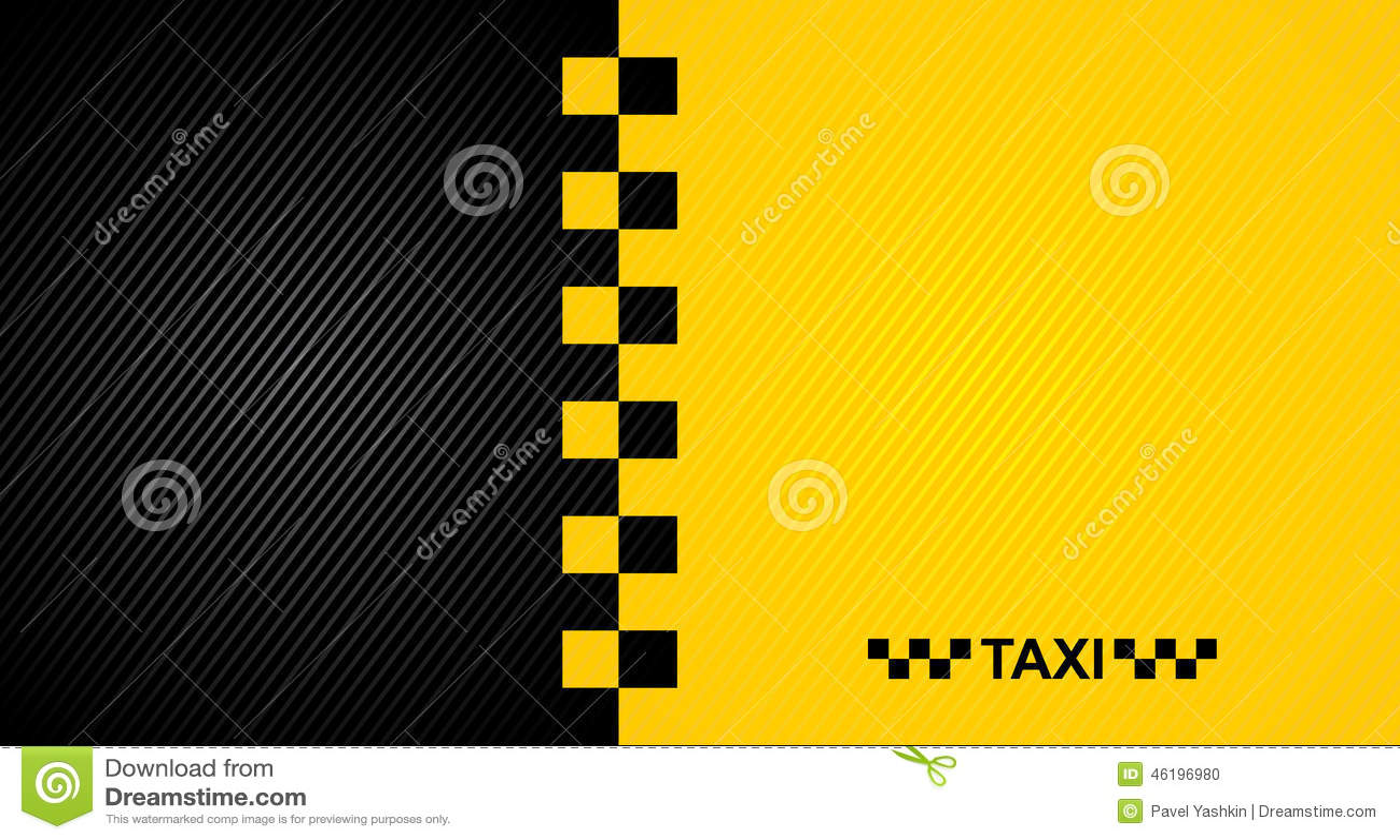 Σύμβολο αμαξιών ταξί