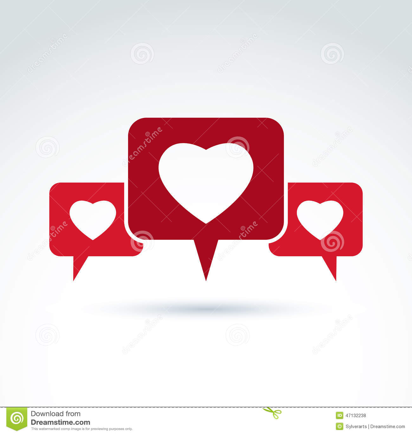 Σύμβολο οικογενειακών διαβουλεύσεων, φόρουμ συζήτησης και συνομιλία επάνω