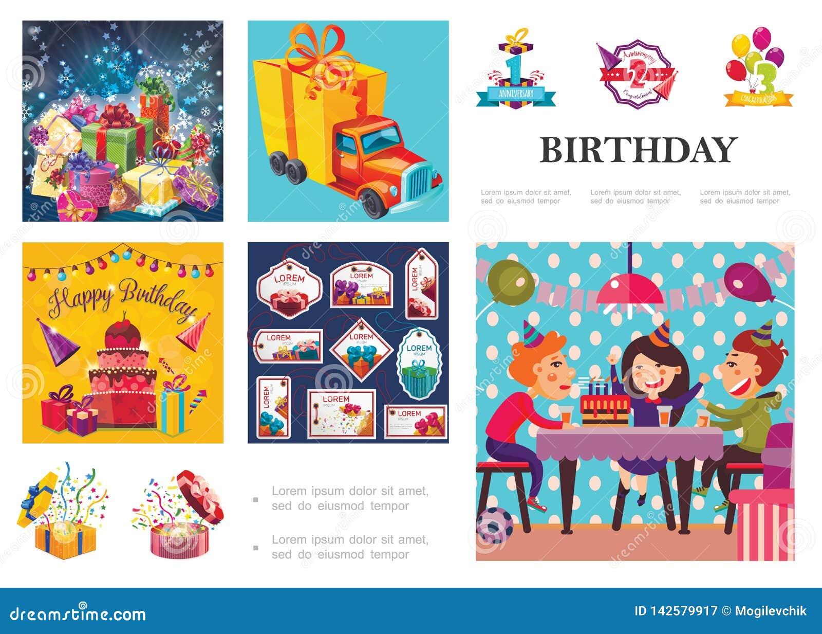 Σύνθεση γιορτής γενεθλίων
