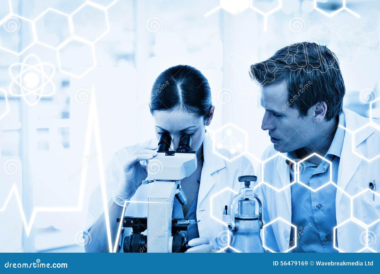 Σύνθετη εικόνα της επιστήμης γραφική