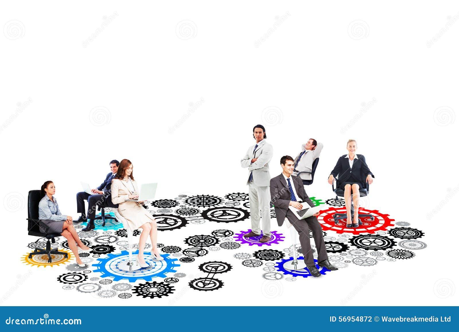 Σύνθετη εικόνα της επιχειρησιακής ομάδας
