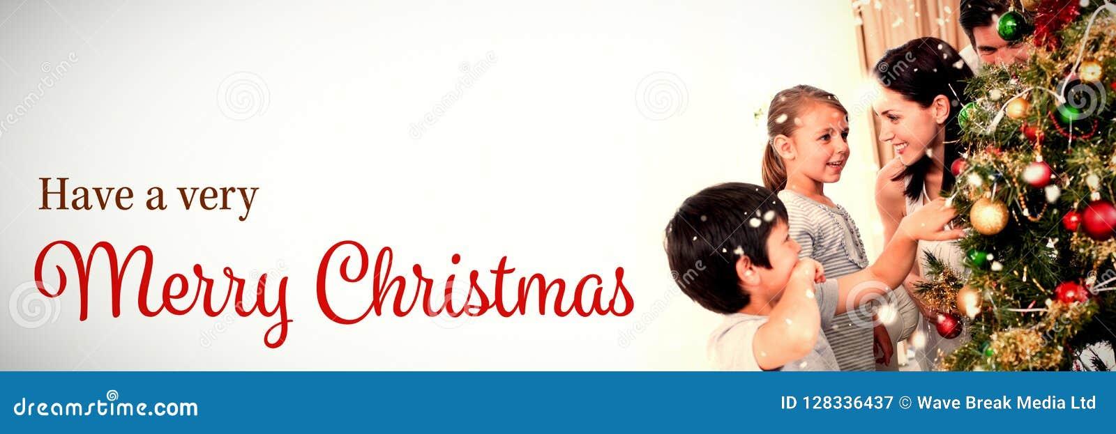 Σύνθετη εικόνα της κάρτας Χριστουγέννων