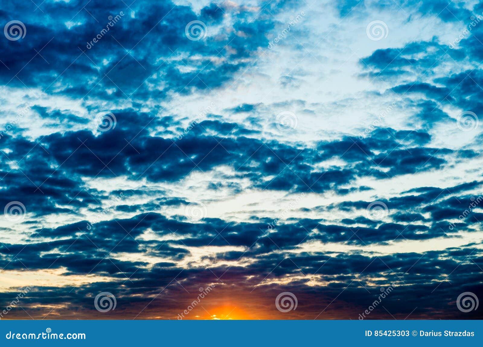 Σύννεφα ηλιοβασιλέματος