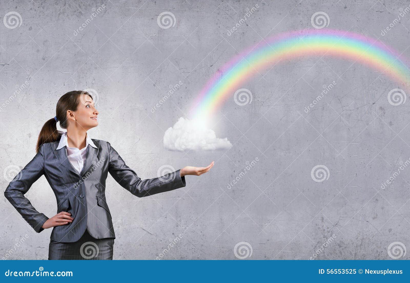 Download Σύννεφο λαβής γυναικών στοκ εικόνα. εικόνα από καυκάσιος - 56553525