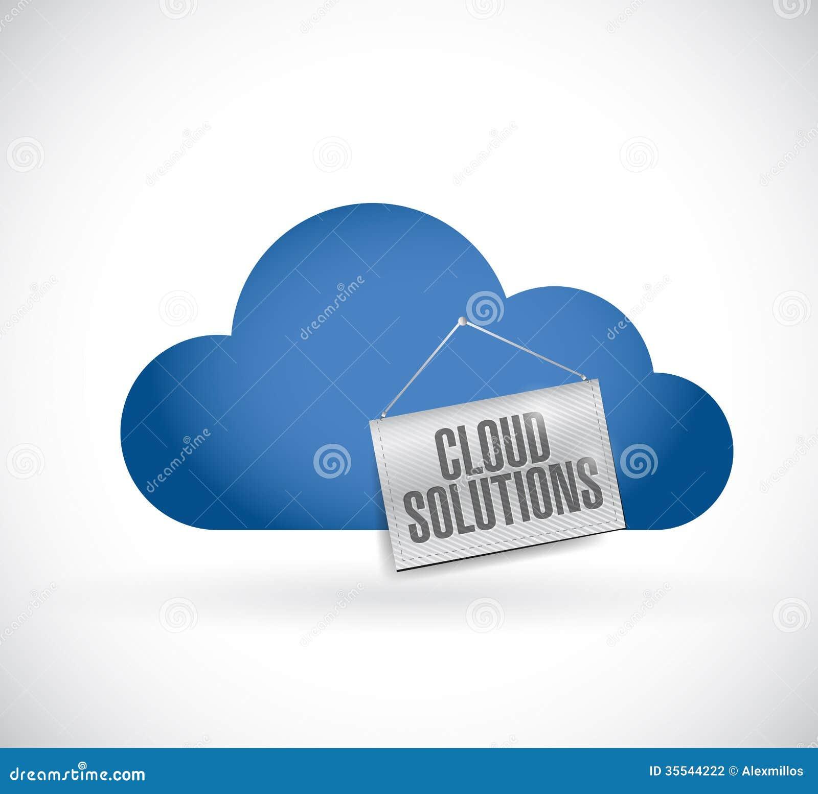 Σύννεφο που υπολογίζει, λύσεις σύννεφων που κρεμούν το έμβλημα
