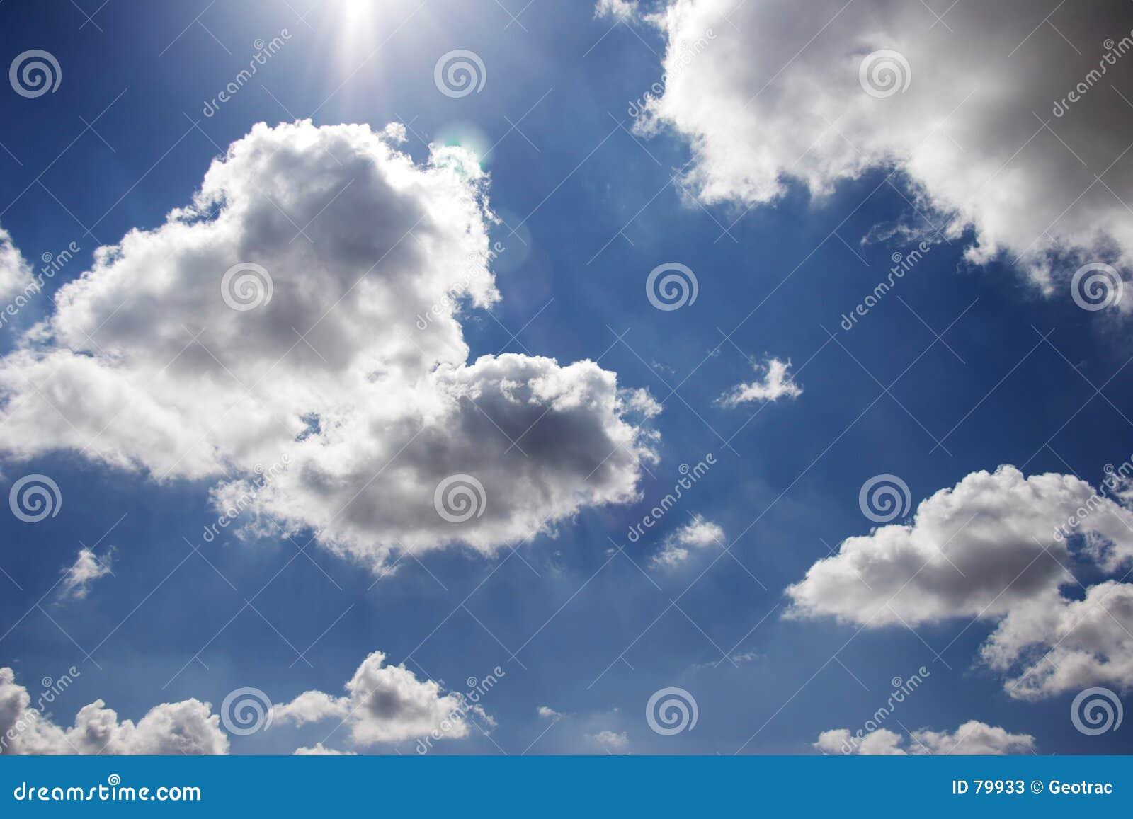 σύννεφο χνουδωτό