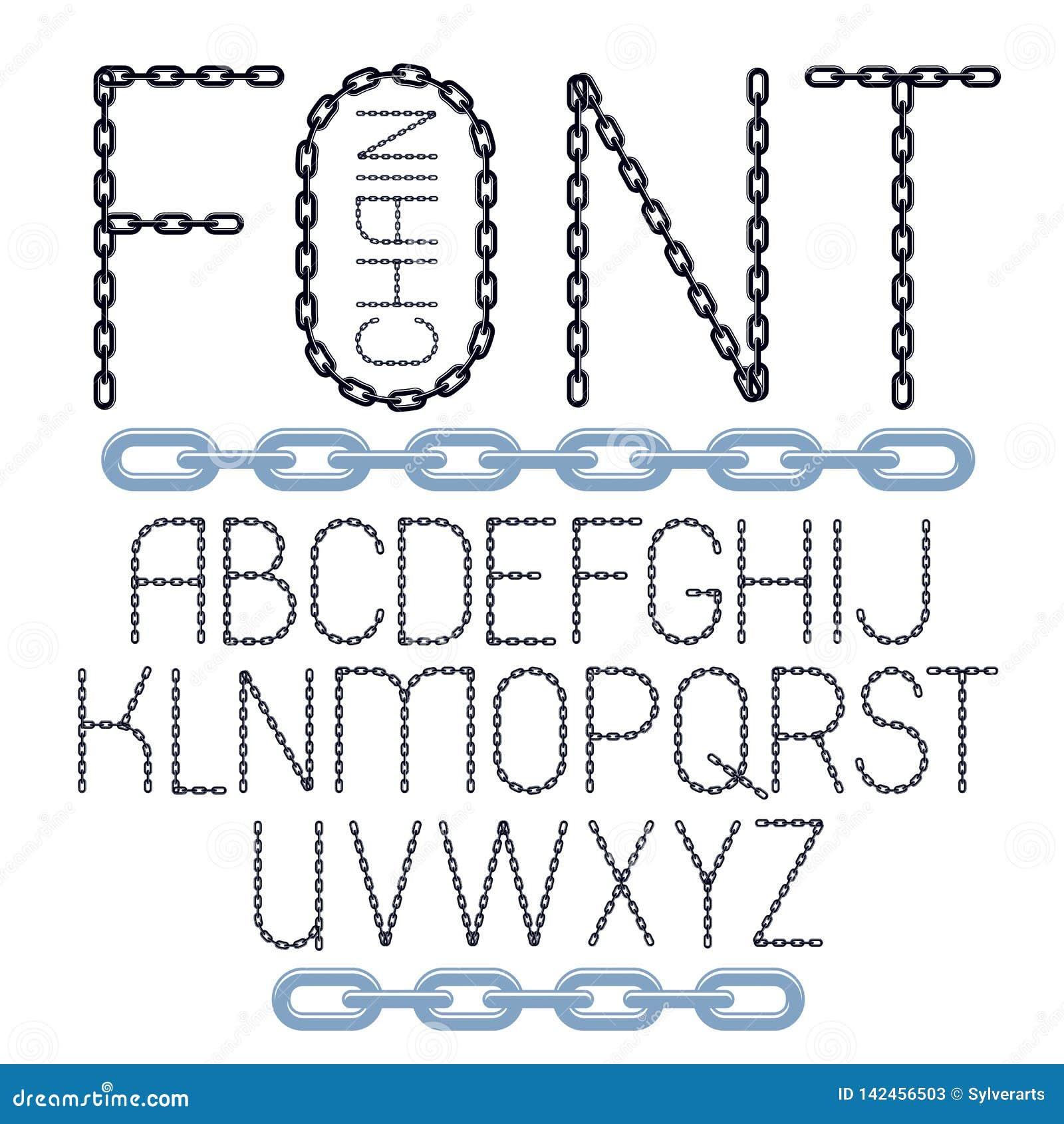 Σύνολο διανυσματικών αγγλικών επιστολών αλφάβητου που απομονώνεται Ανώτερος - περίπτωσης πηγή που γίνεται δημιουργική με τη σύνδε