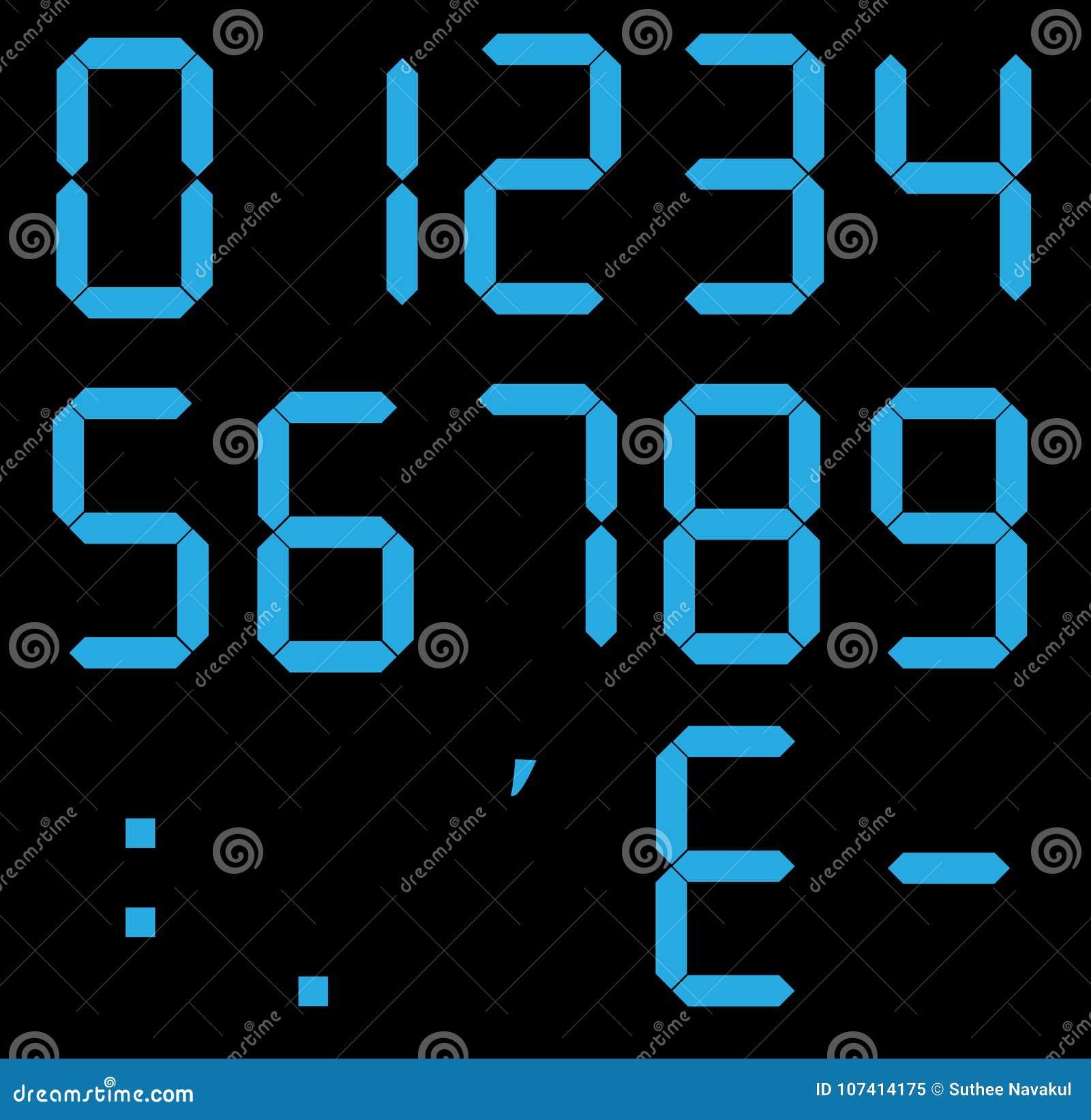 Σύνολο ψηφιακών αριθμών υπολογιστών Ηλεκτρονικοί αριθμοί