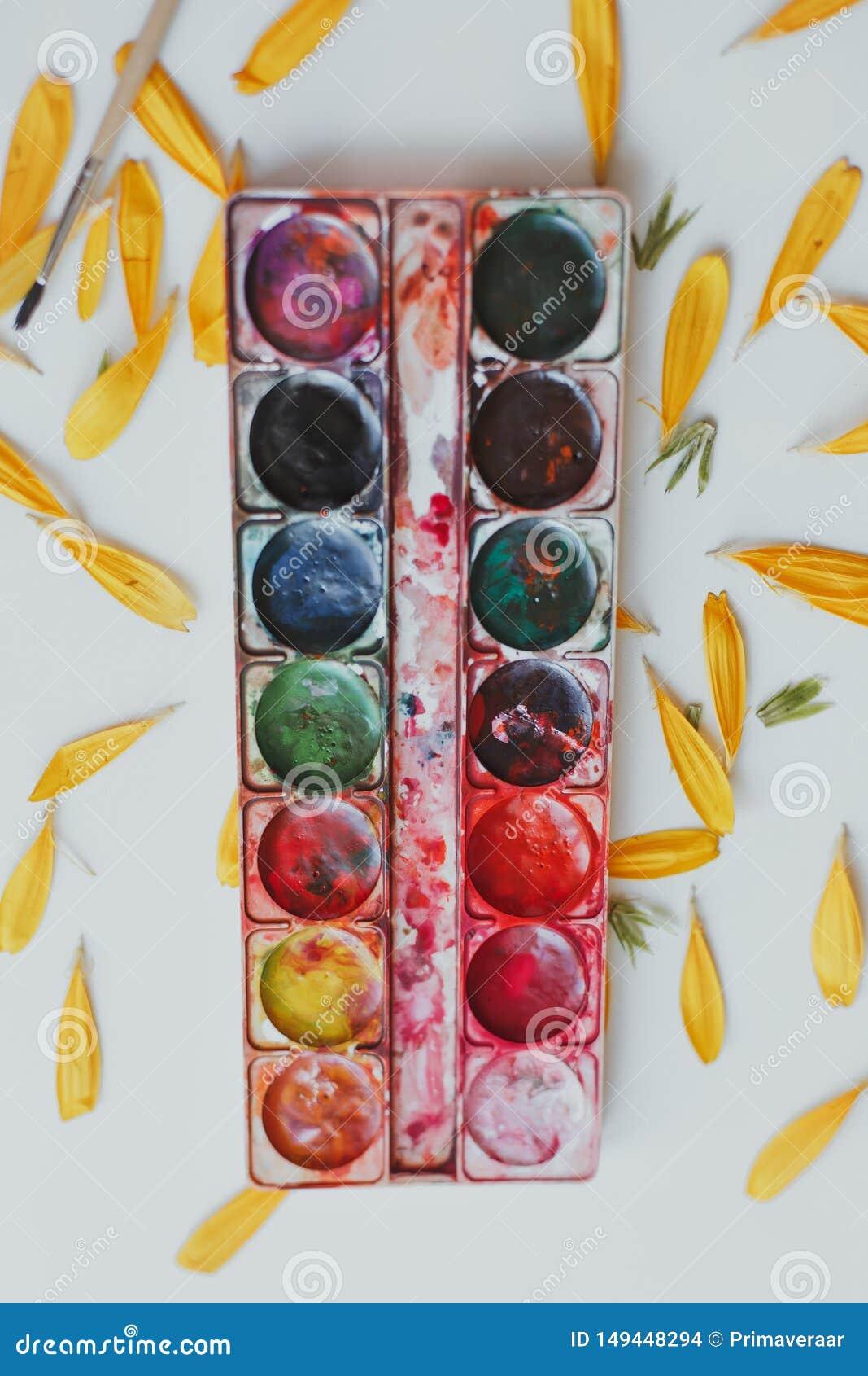 Σύνολο watercolors μικτό
